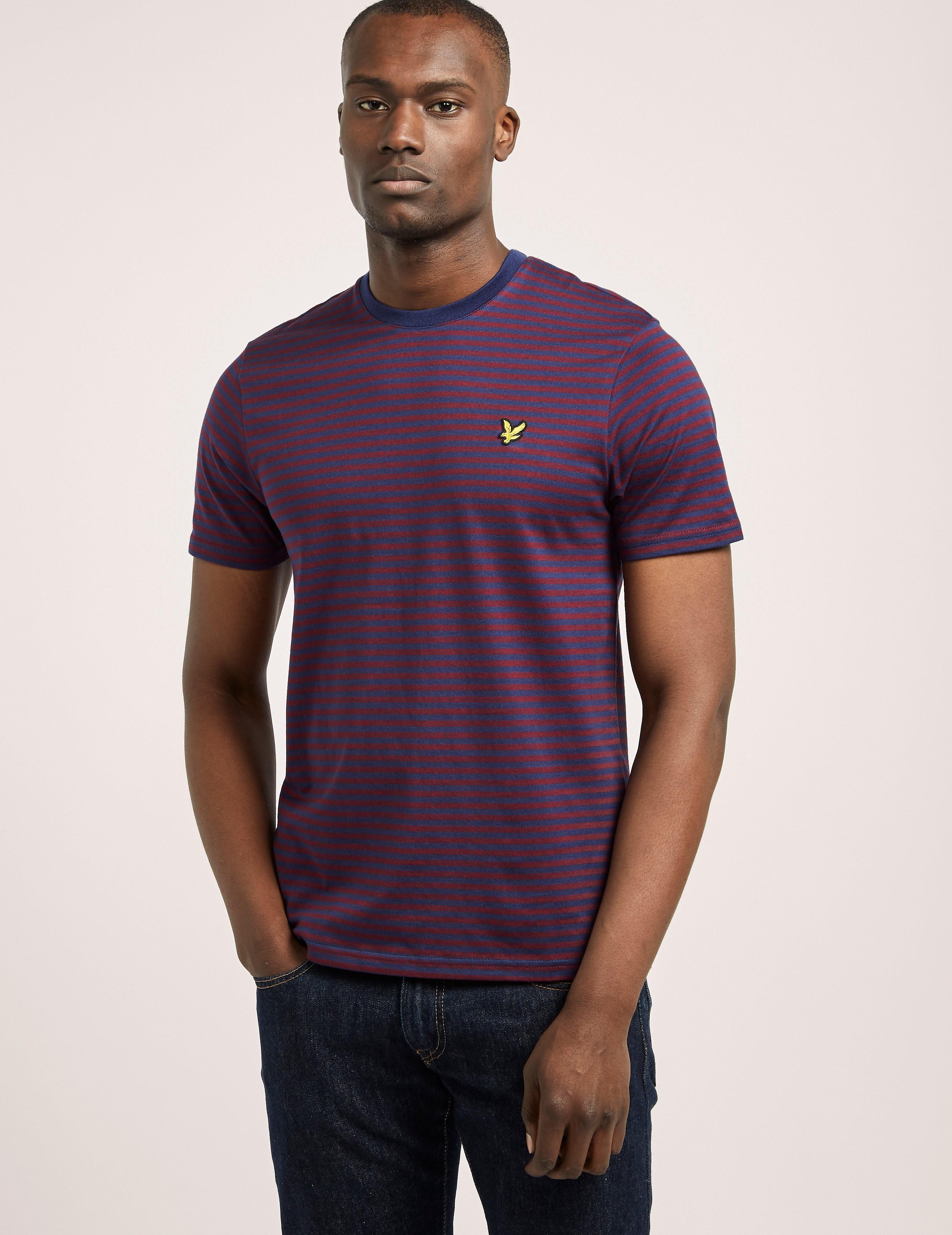 Lyle & Scott Marl Stripe T-Shirt