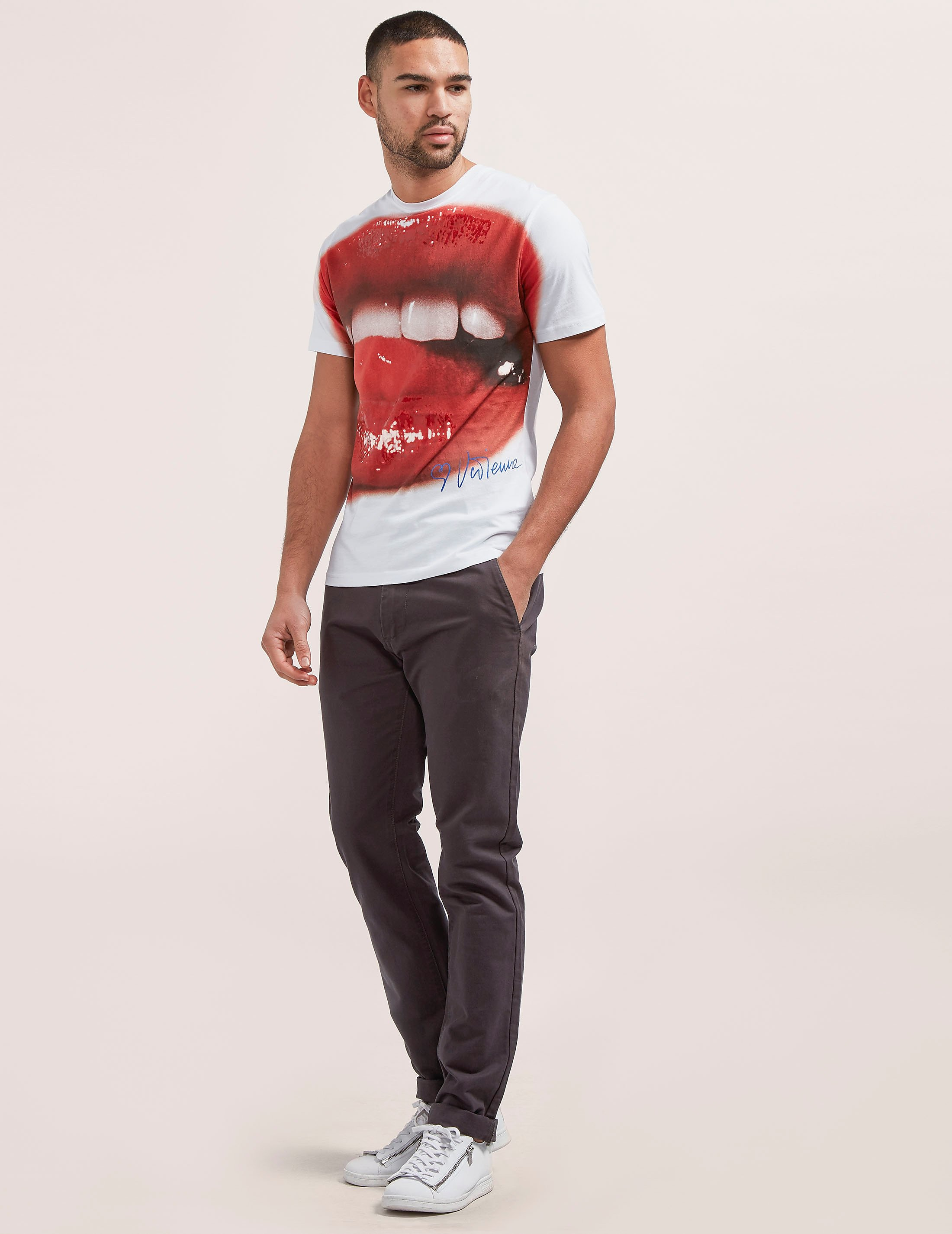 Vivienne Westwood Lips Print Short Sleeve T-Shirt