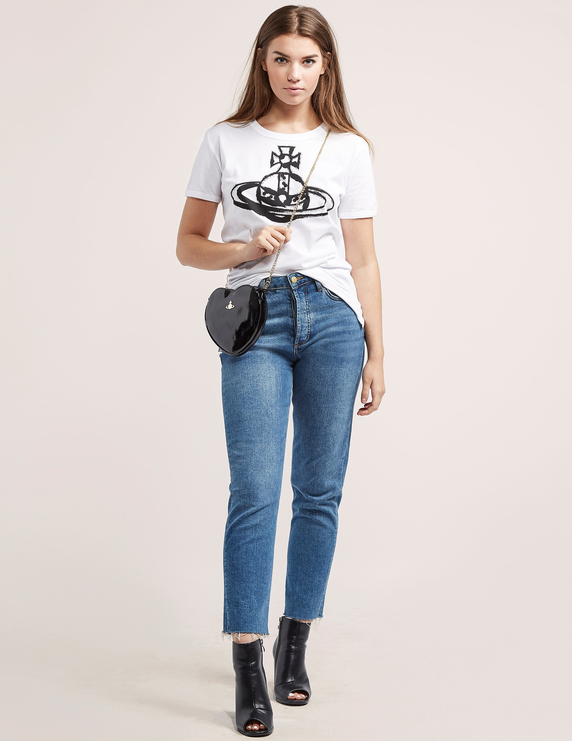 Vivienne Westwood Anglomania Brushstroke Orb T-Shirt