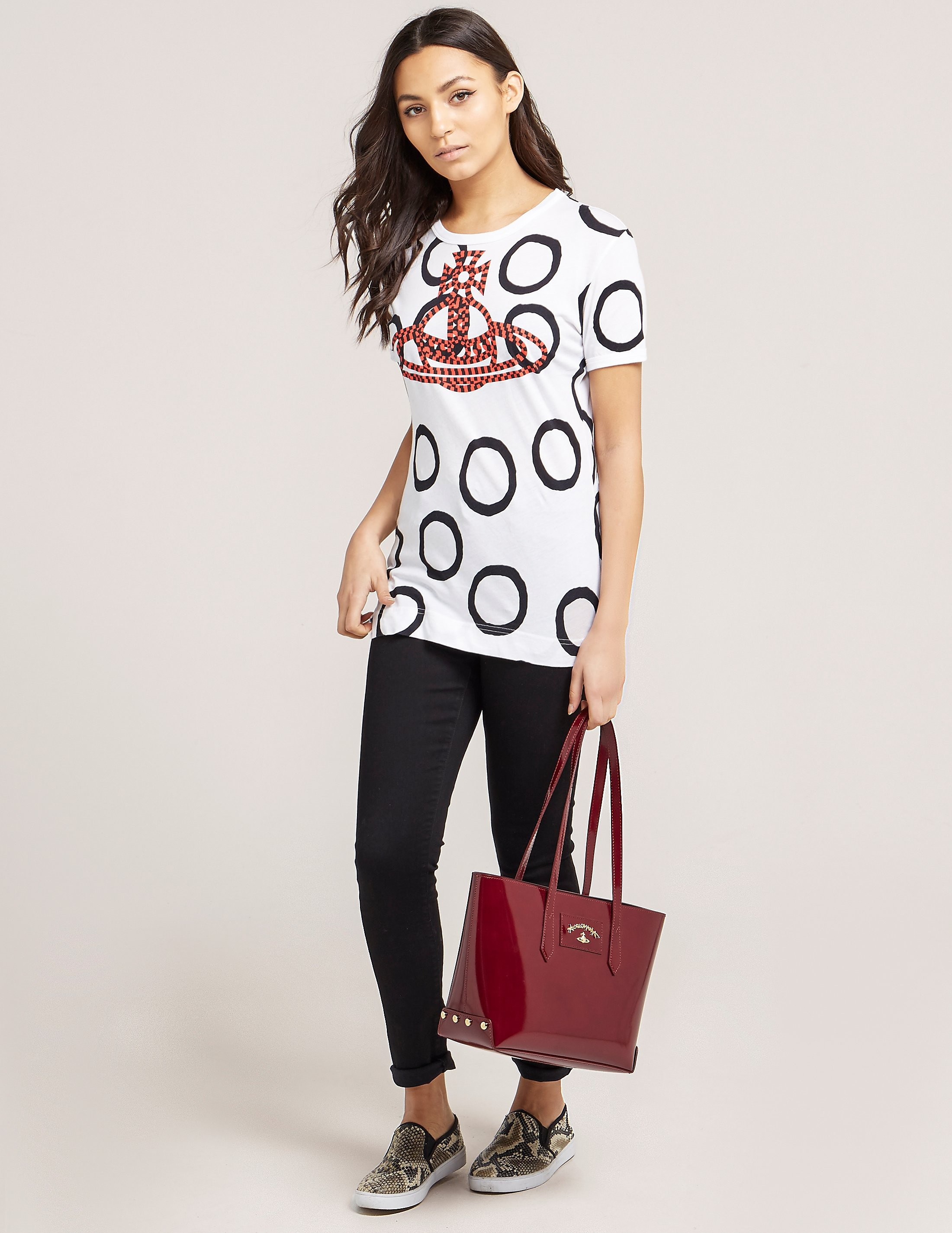 Vivienne Westwood Anglomania Braided Orb T-Shirt