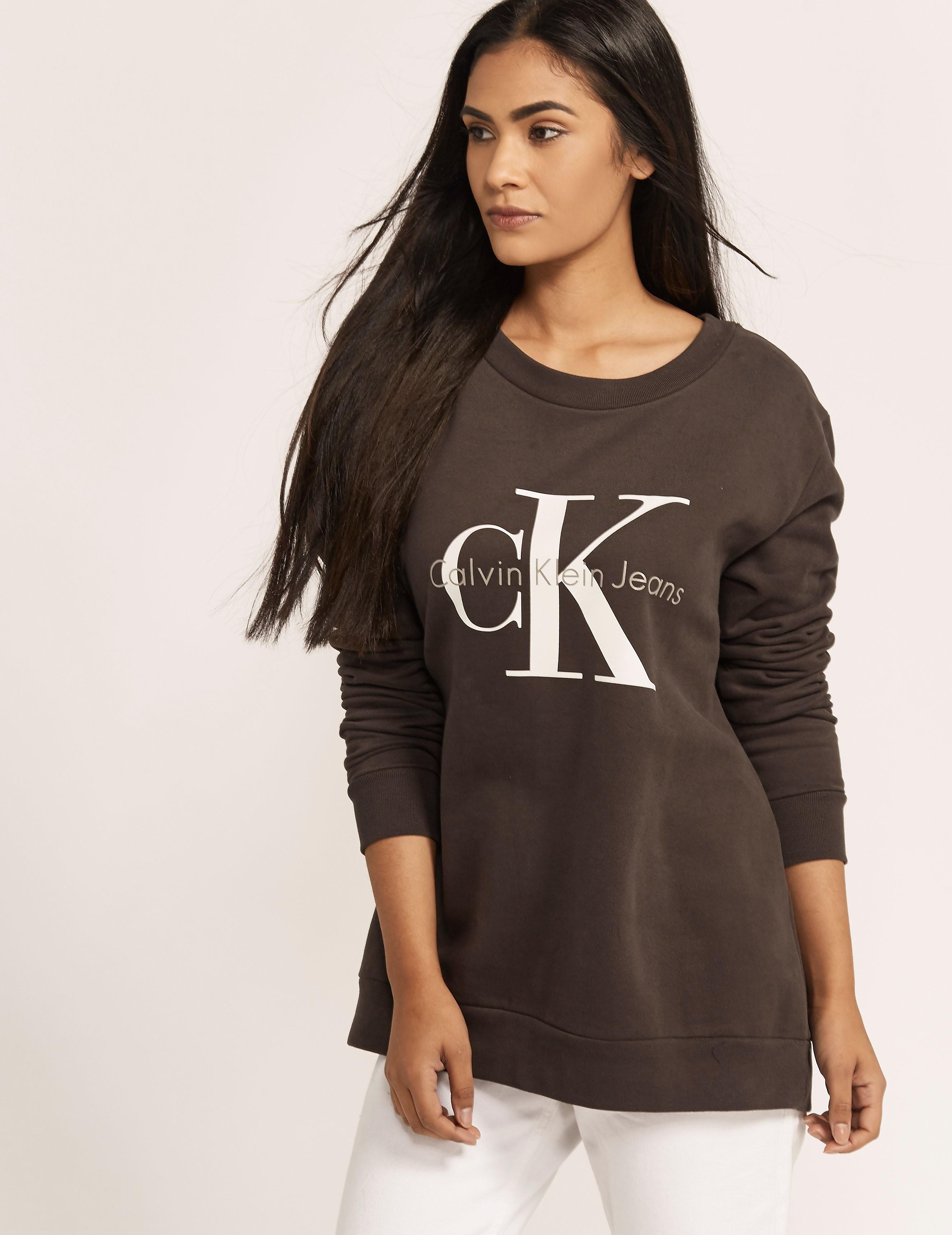 Calvin Klein Logo Crew Sweatshirt