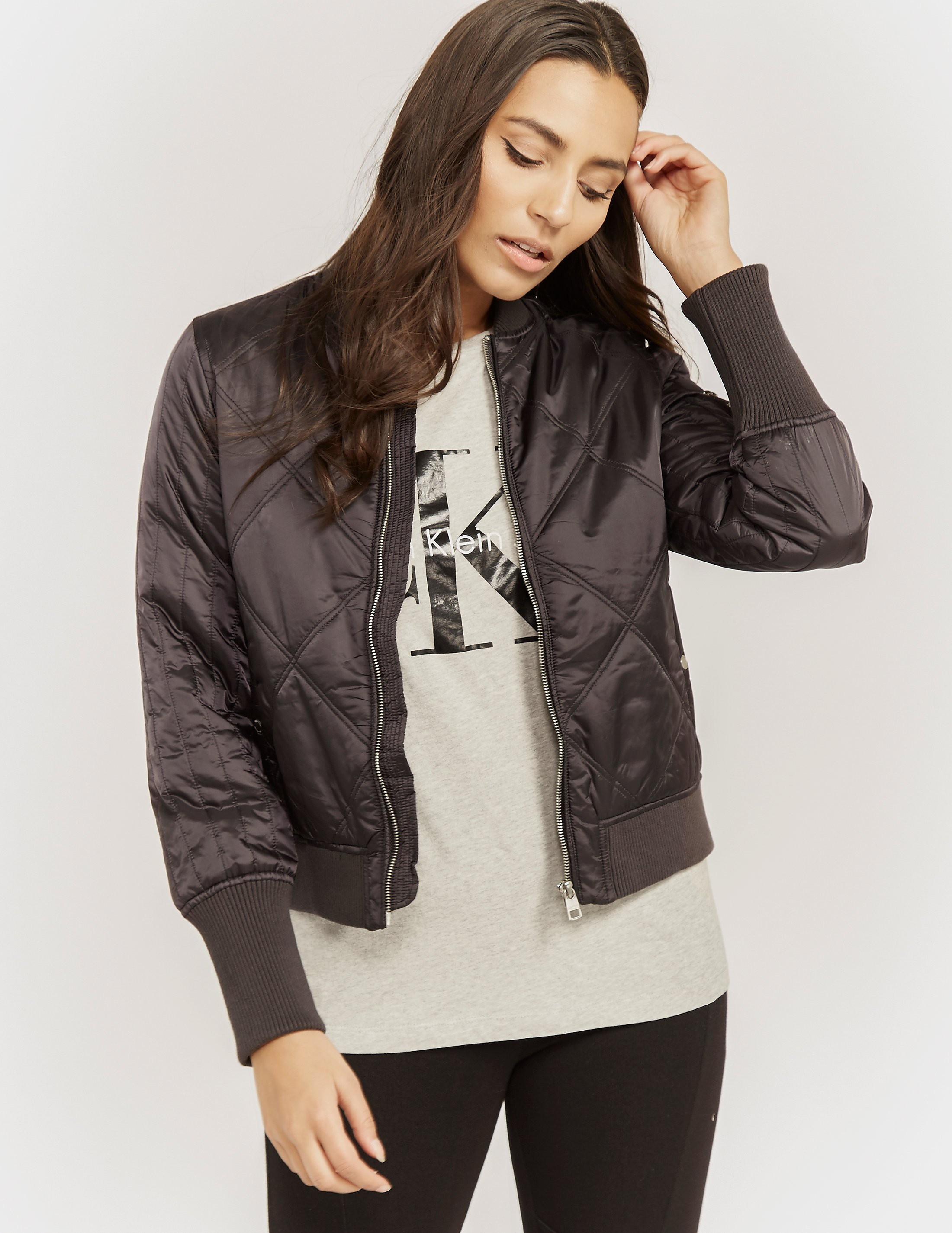 Calvin Klein Opal Quilted Bomber