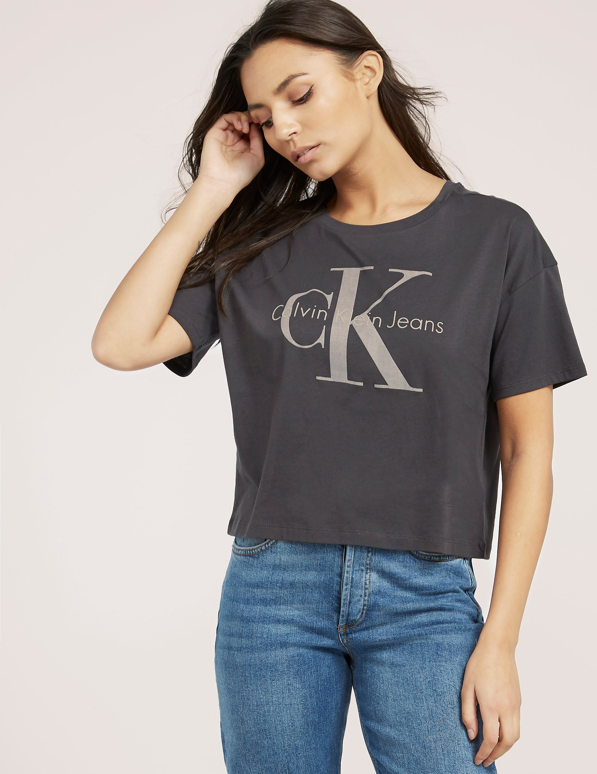 Calvin Klein Teca Icon Crop Top