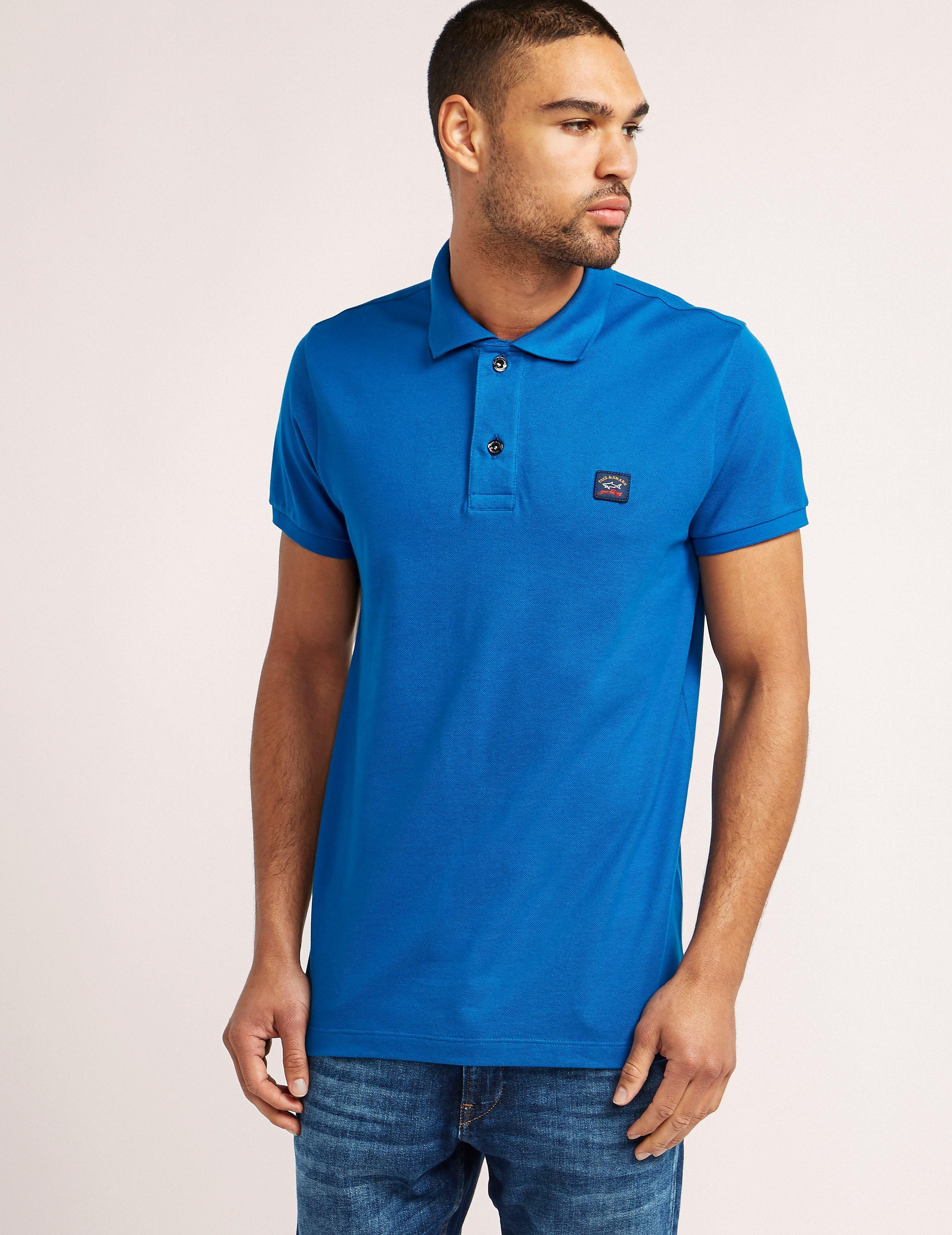 Paul and Shark Basic Short Sleeve Polo Shirt
