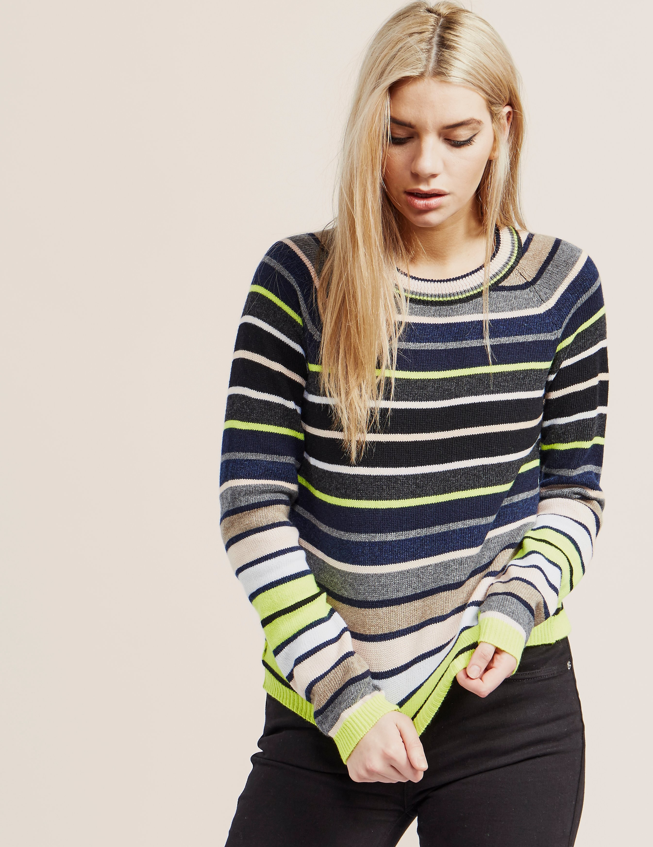 Paul Smith Stripe Crew Knit