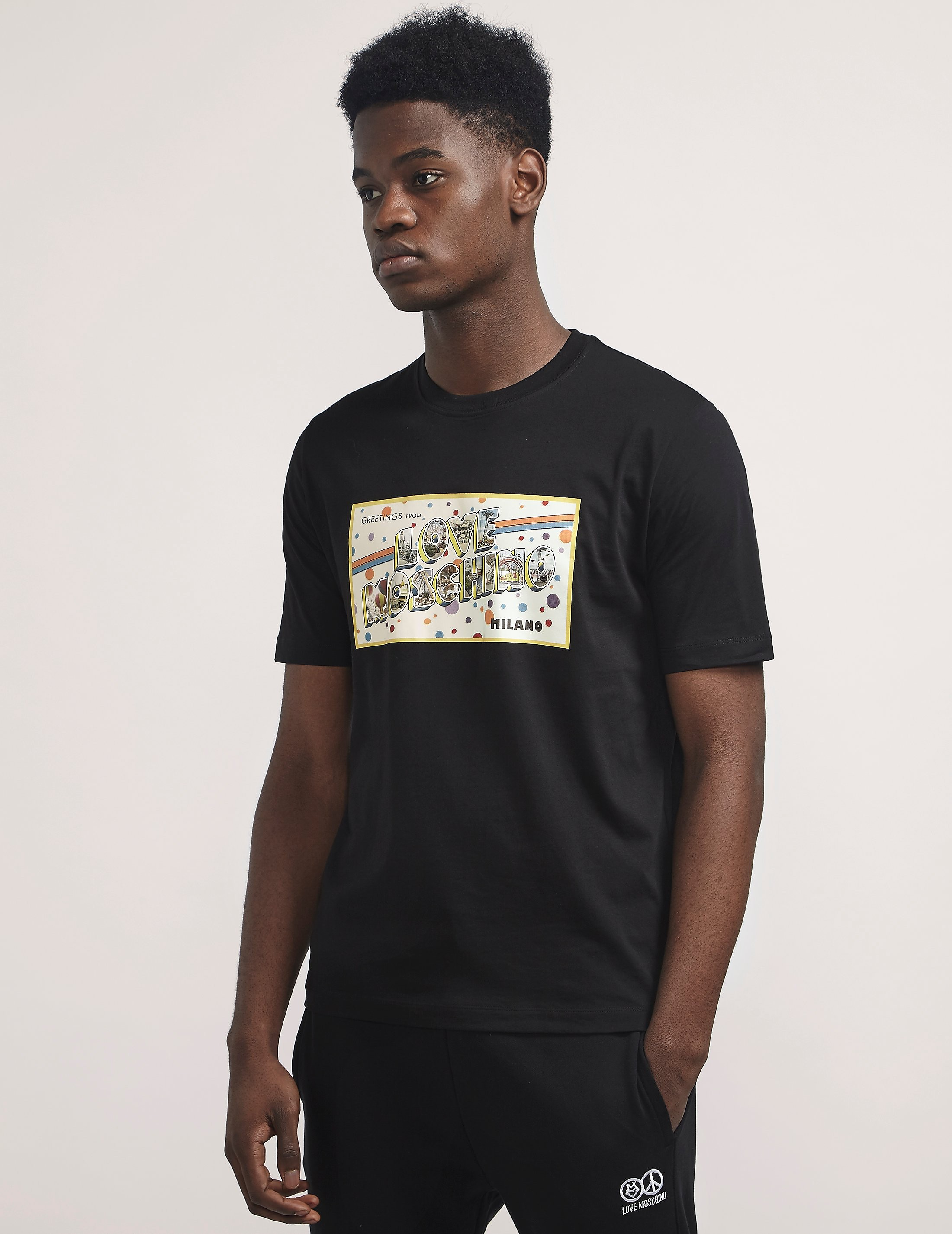 Love Moschino Bar Box Short Sleeve T-Shirt