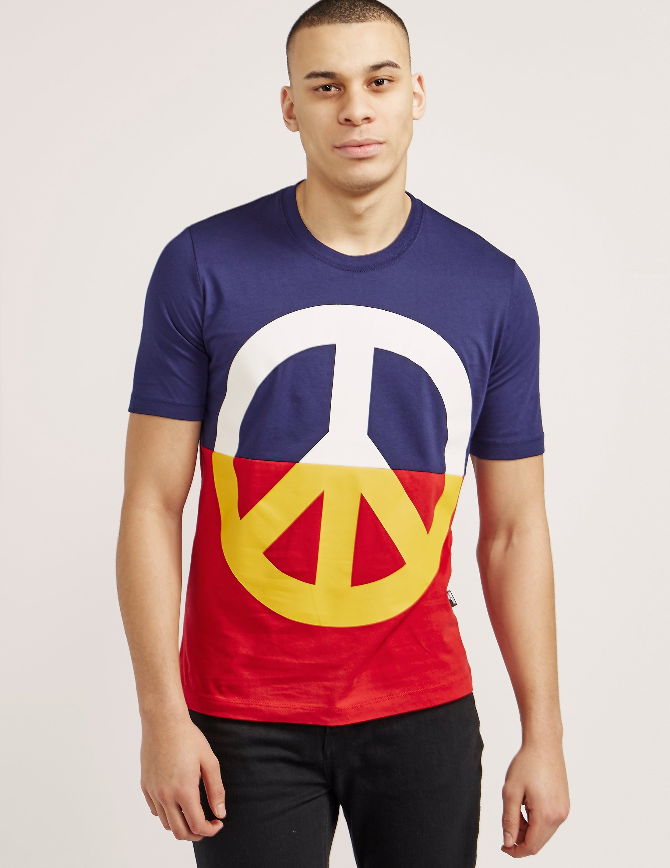 Love Moschino Large Peace T-Shirt