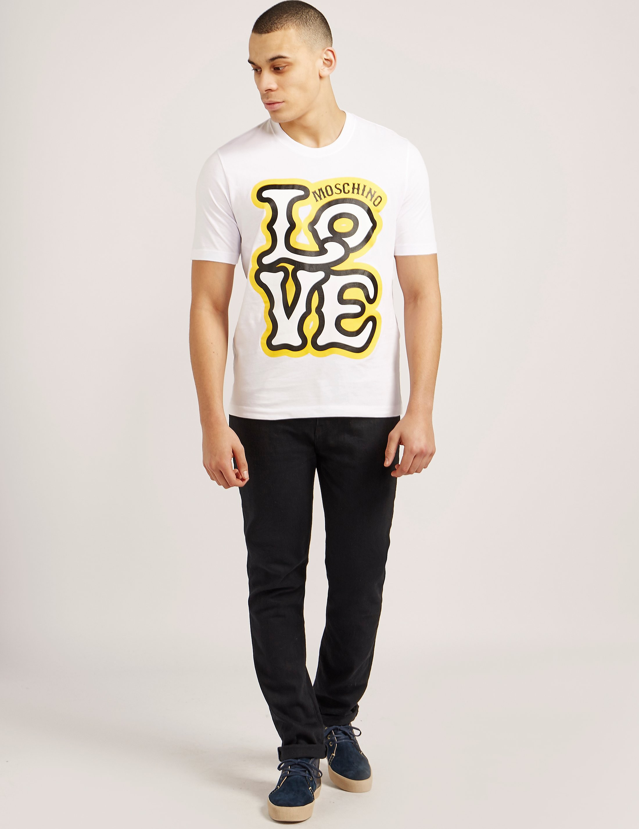 Love Moschino Love Print Short Sleeve T-Shirt