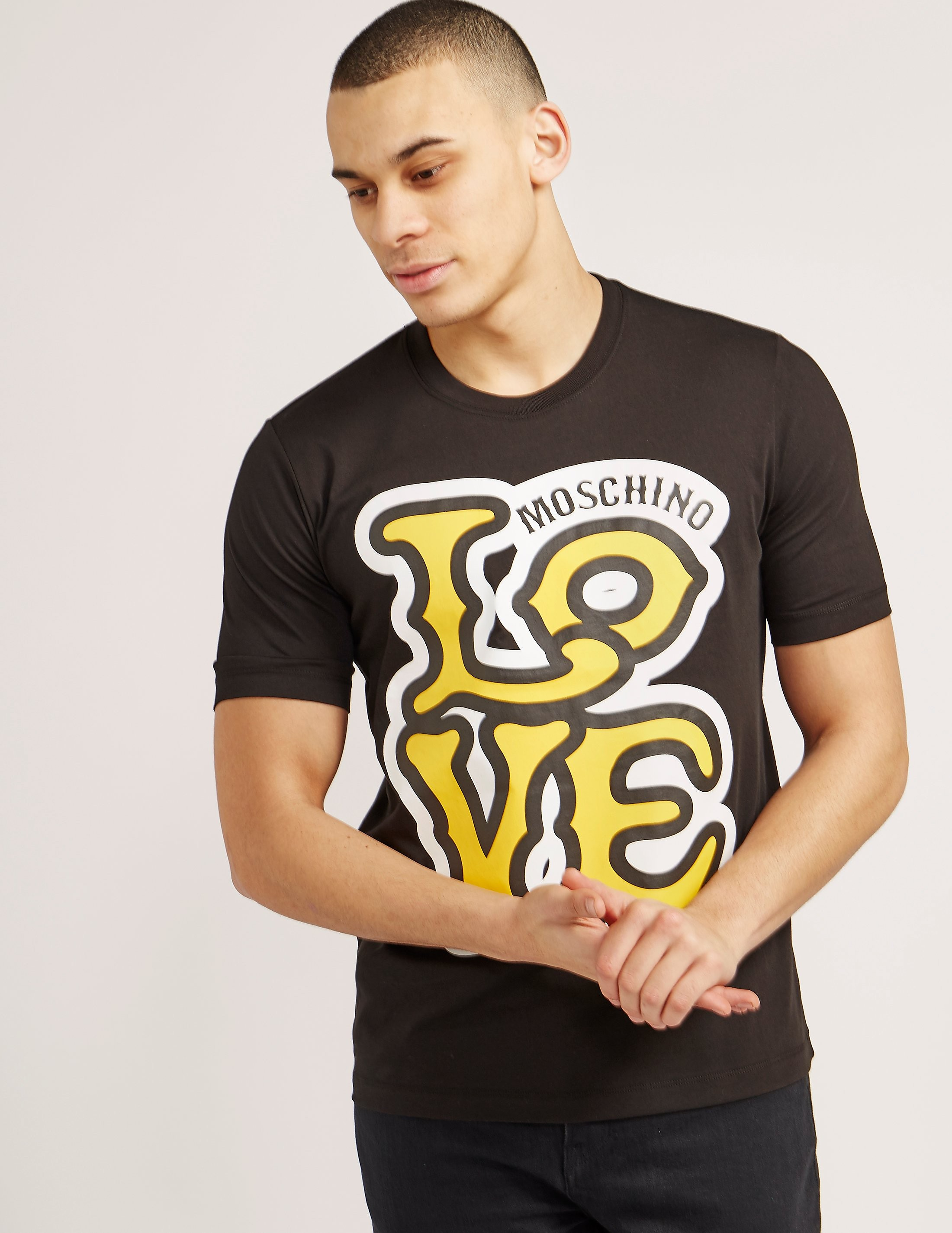 Love Moschino Love Print Short Sleeve T-Shirt