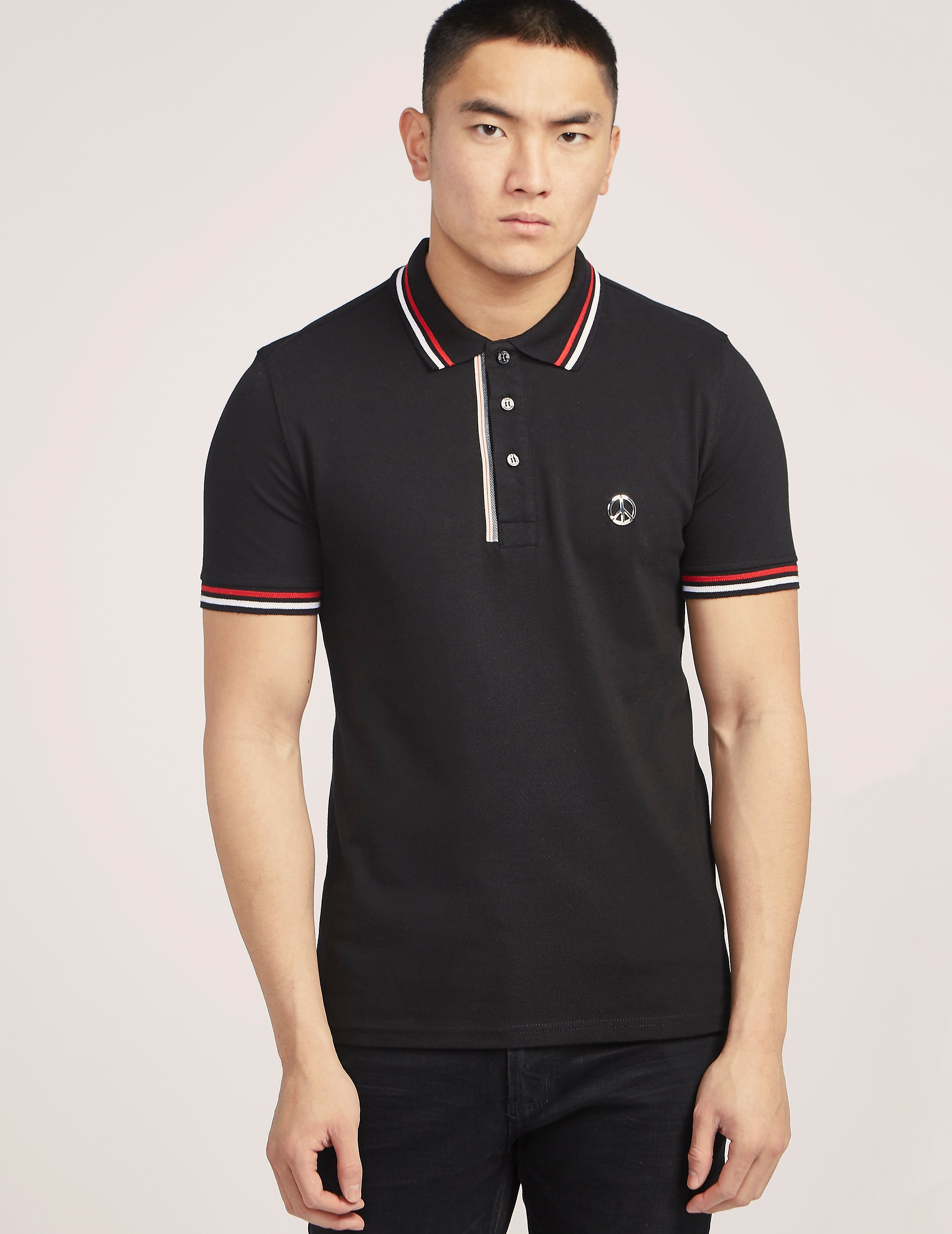Love Moschino Peace Polo Shirt