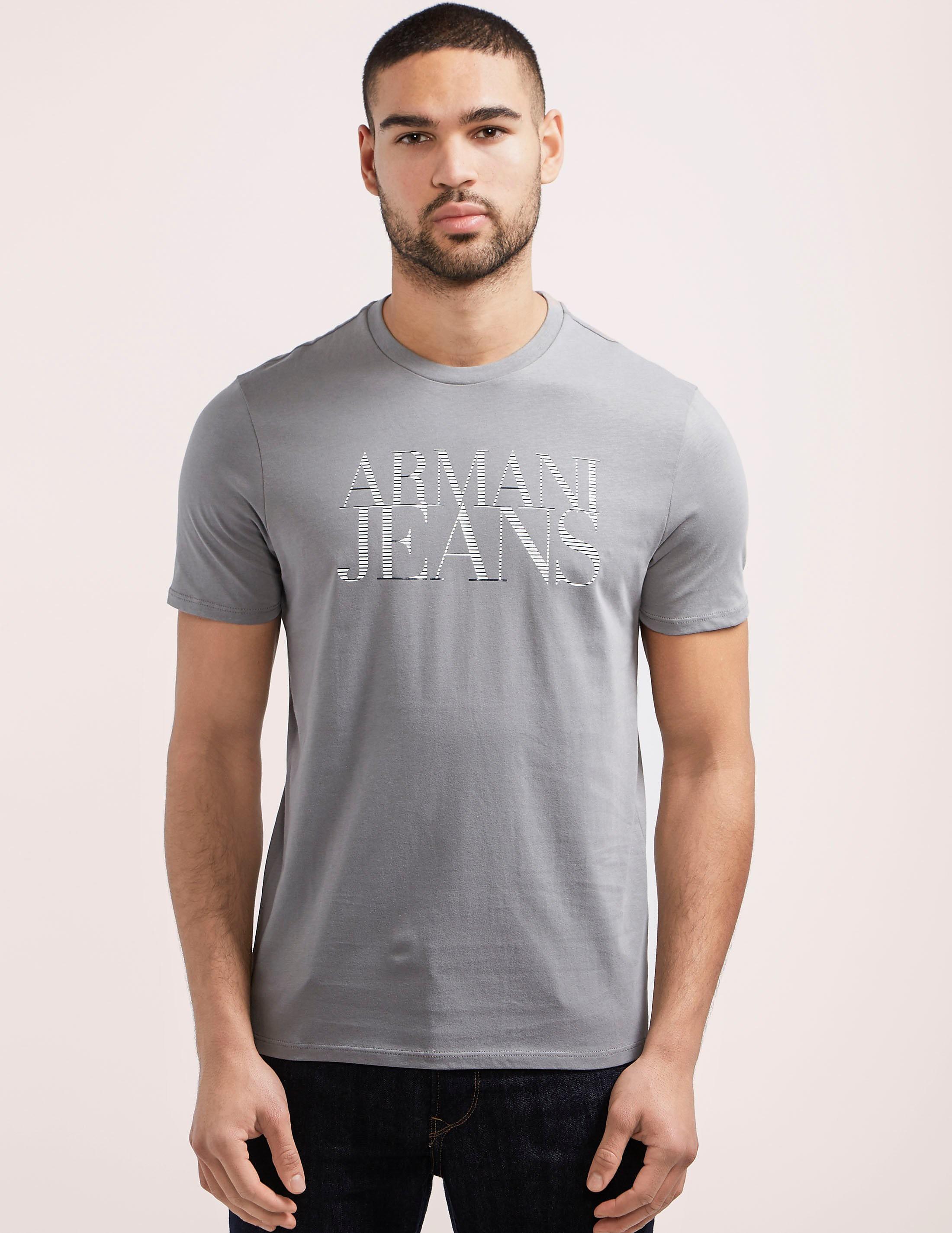Armani Jeans Script Logo T-Shirt