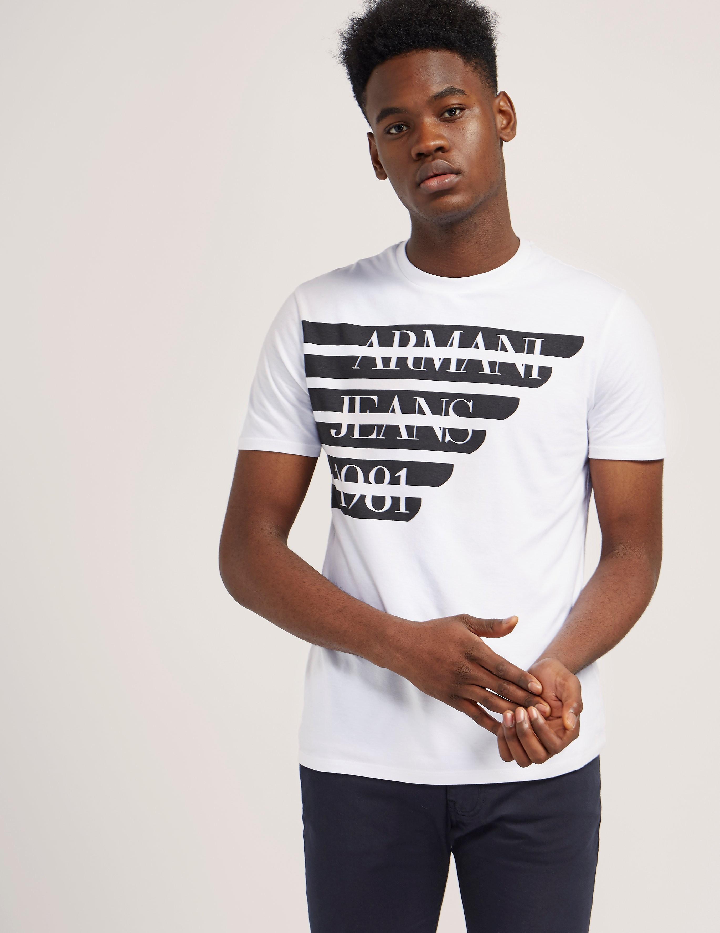 Armani Jeans Half Eagle T-Shirt