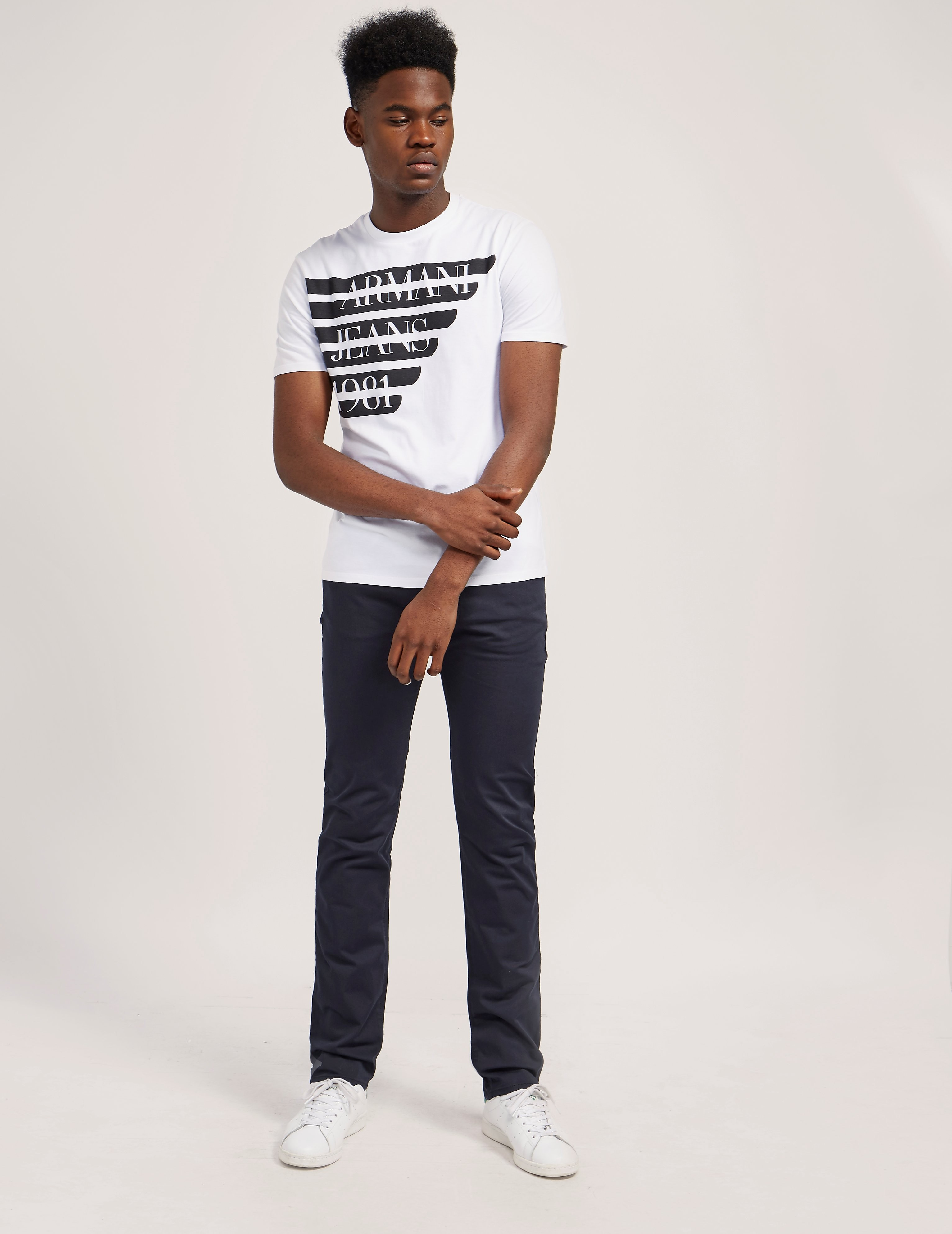 Armani Jeans Half Eagle Short Sleeve T-Shirt