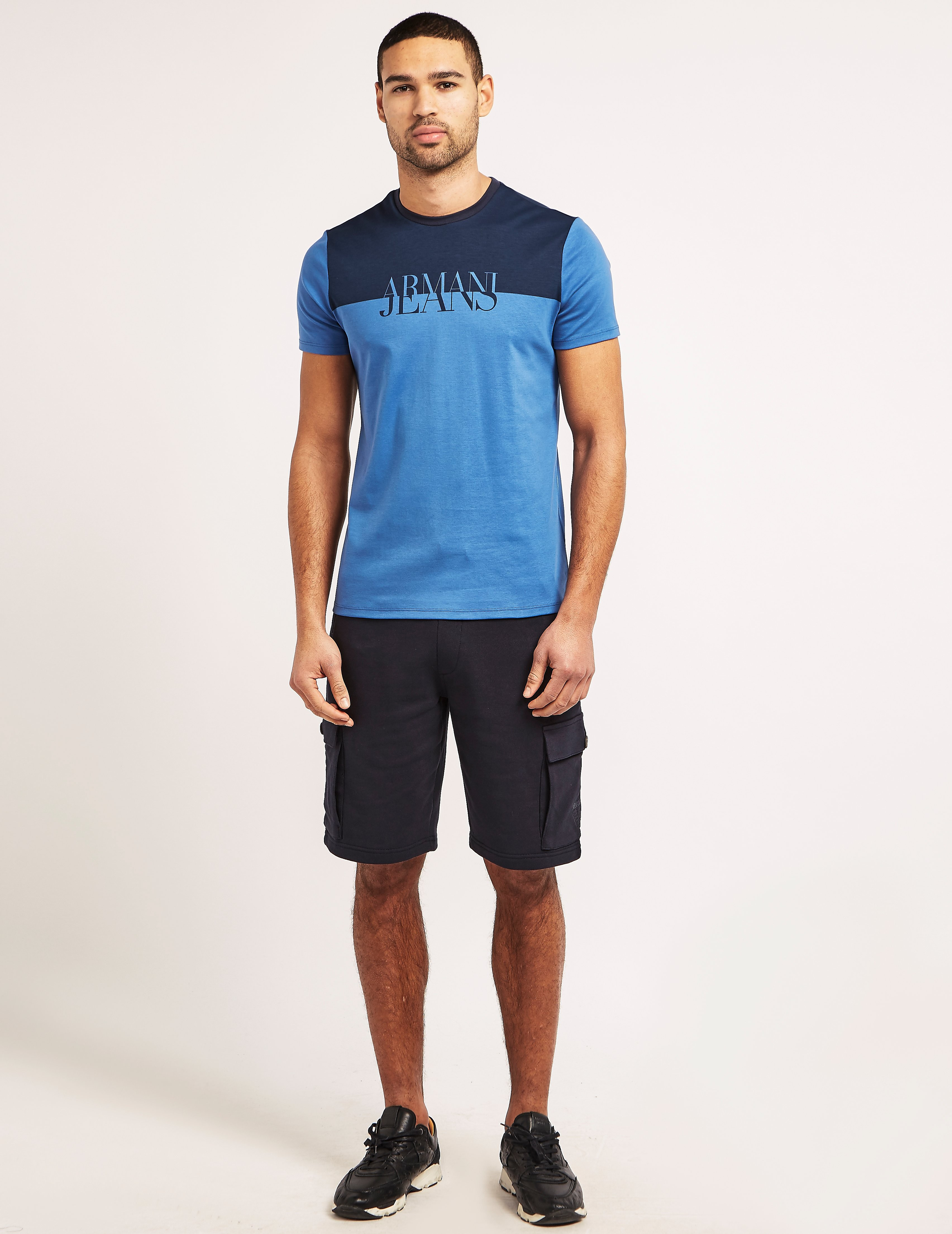 Armani Jeans Contrast Print T-Shirt