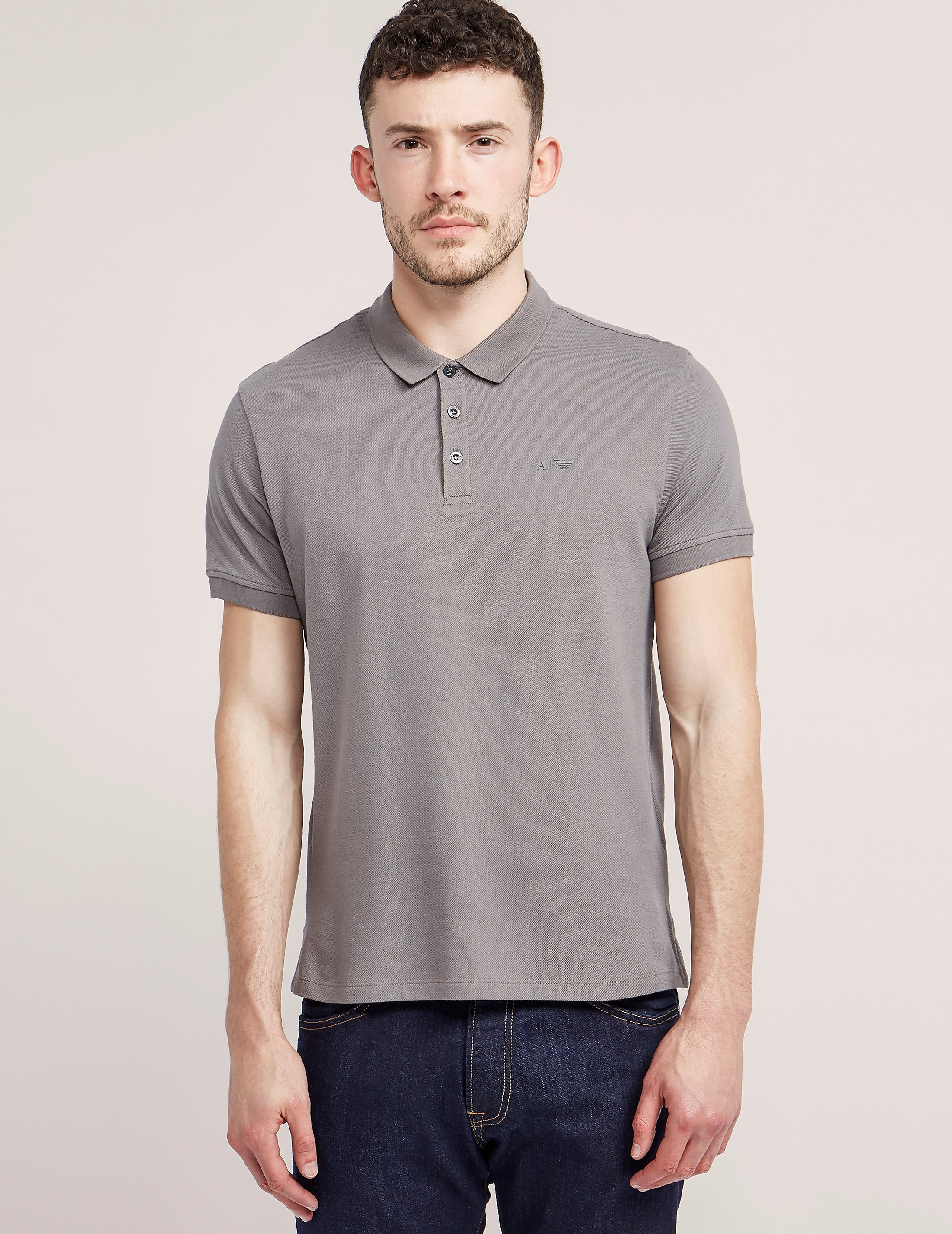 Armani Jeans Basic Short Sleeve Polo Shirt