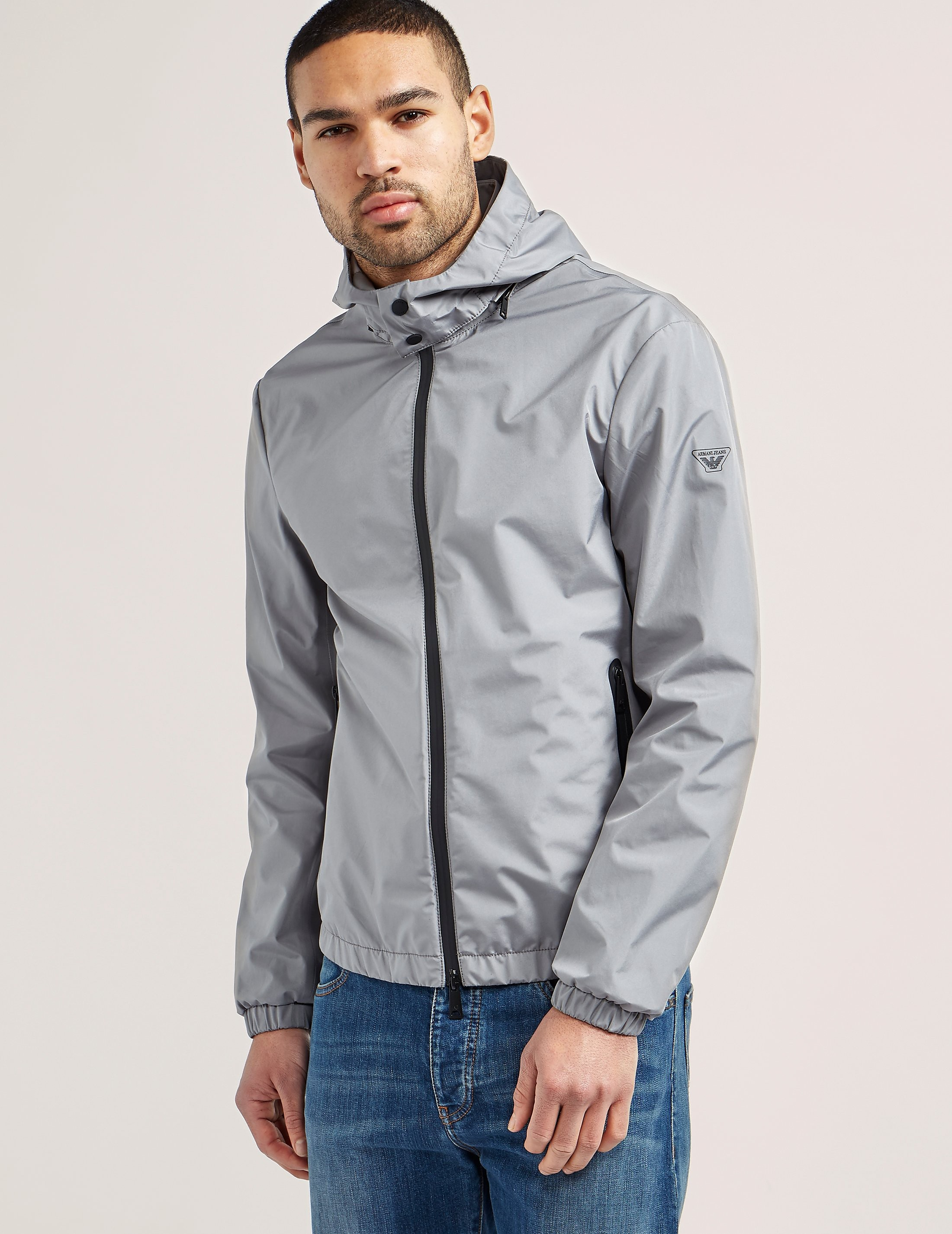 Armani Jeans Waterproof Hooded Jacket