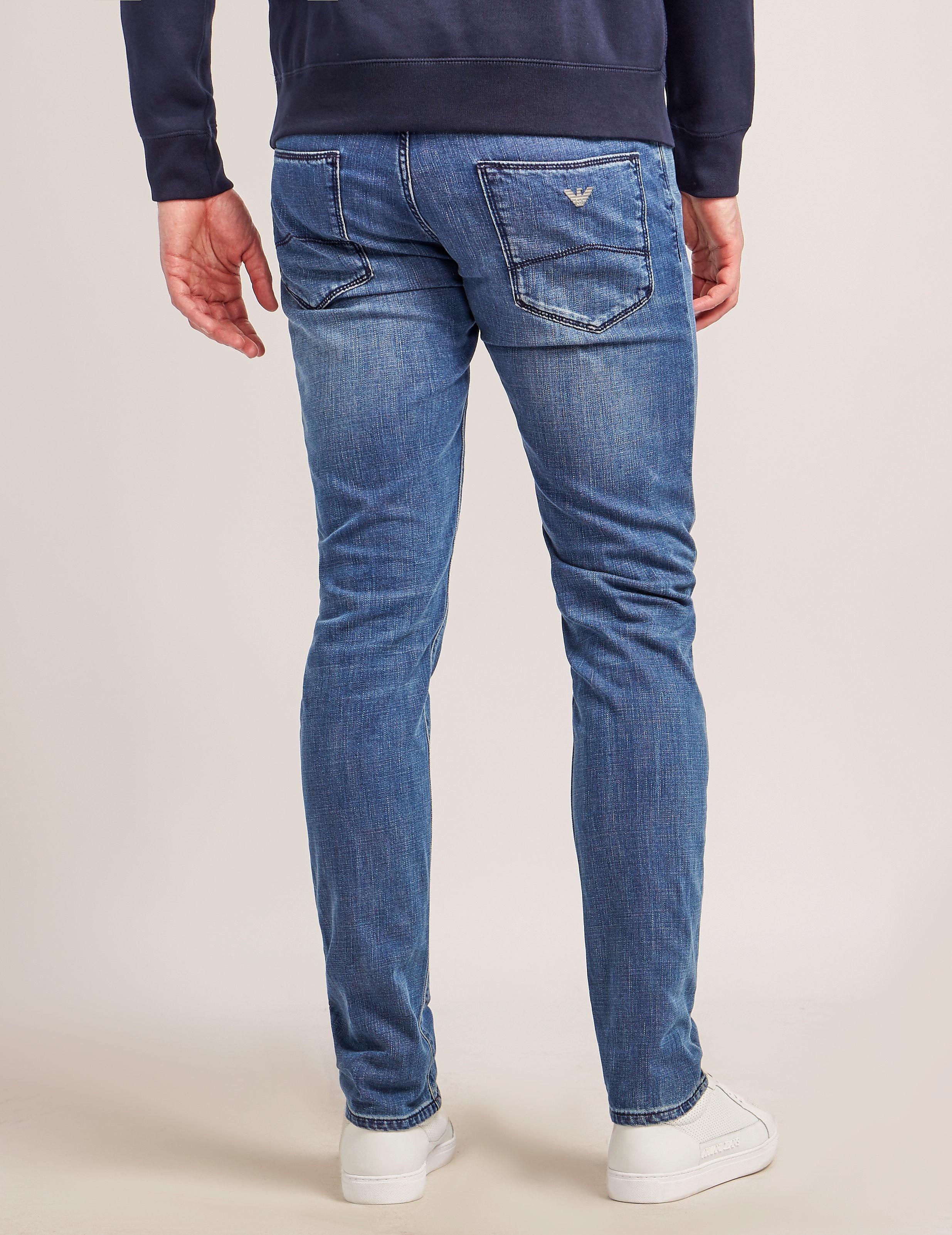 Armani Jeans J06 Slim Fit Jeans - Long
