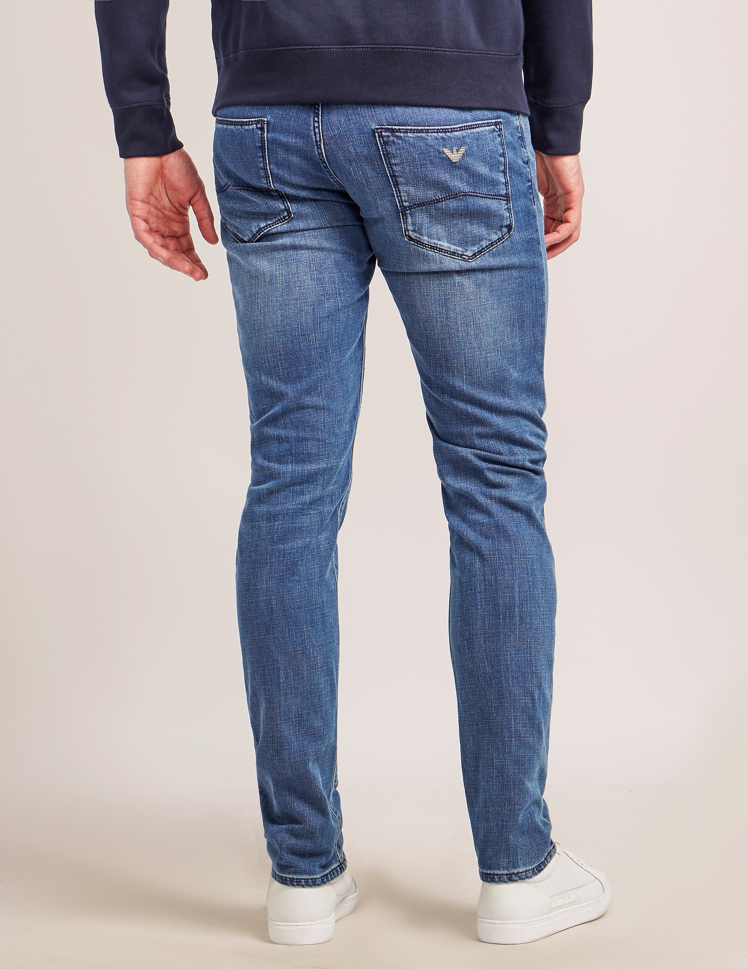Armani Jeans J06 Slim Fit Jeans - Long