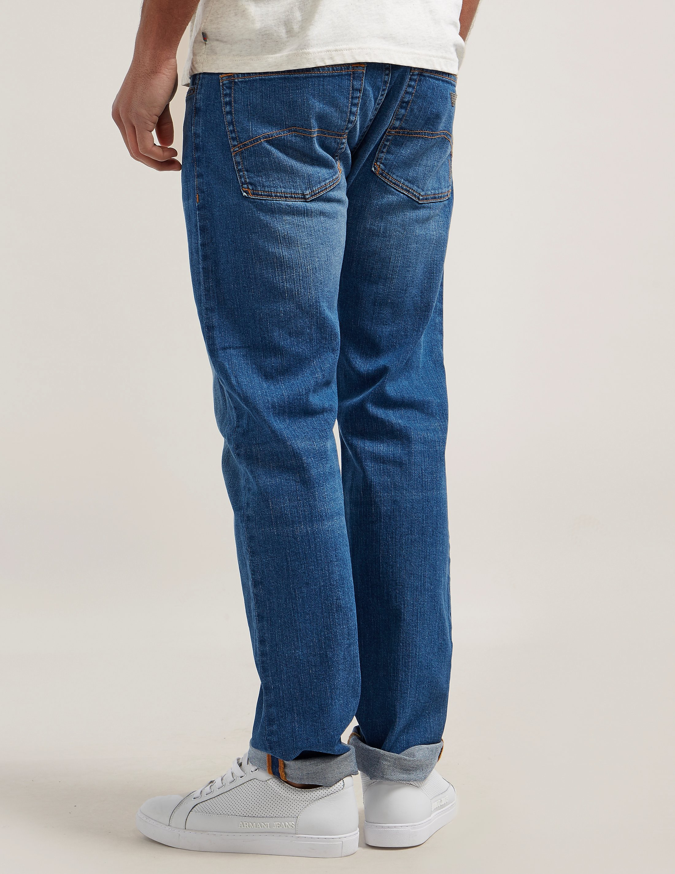 Armani Jeans J45 Regular Fit Jean
