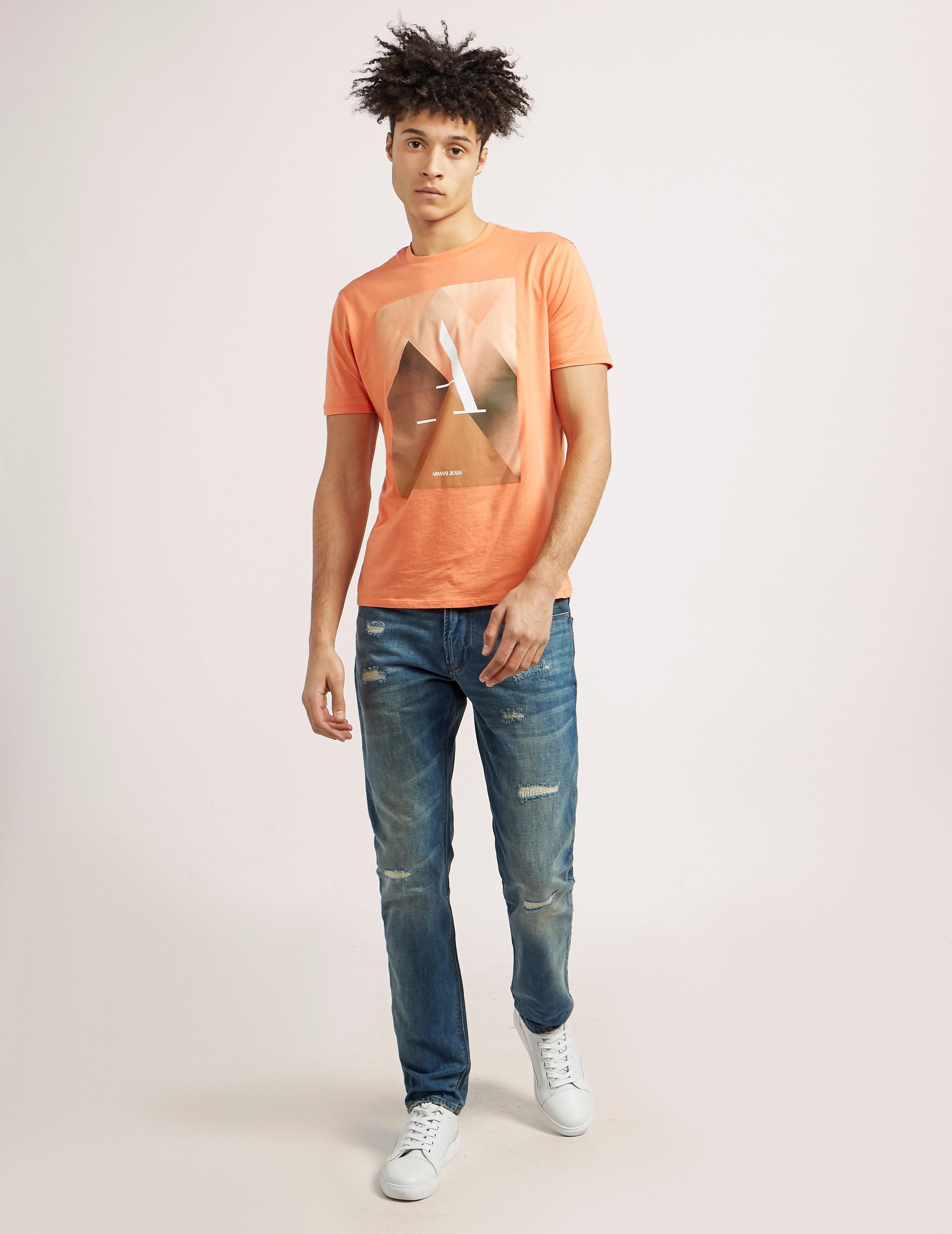Armani Jeans J06 Rip Jeans