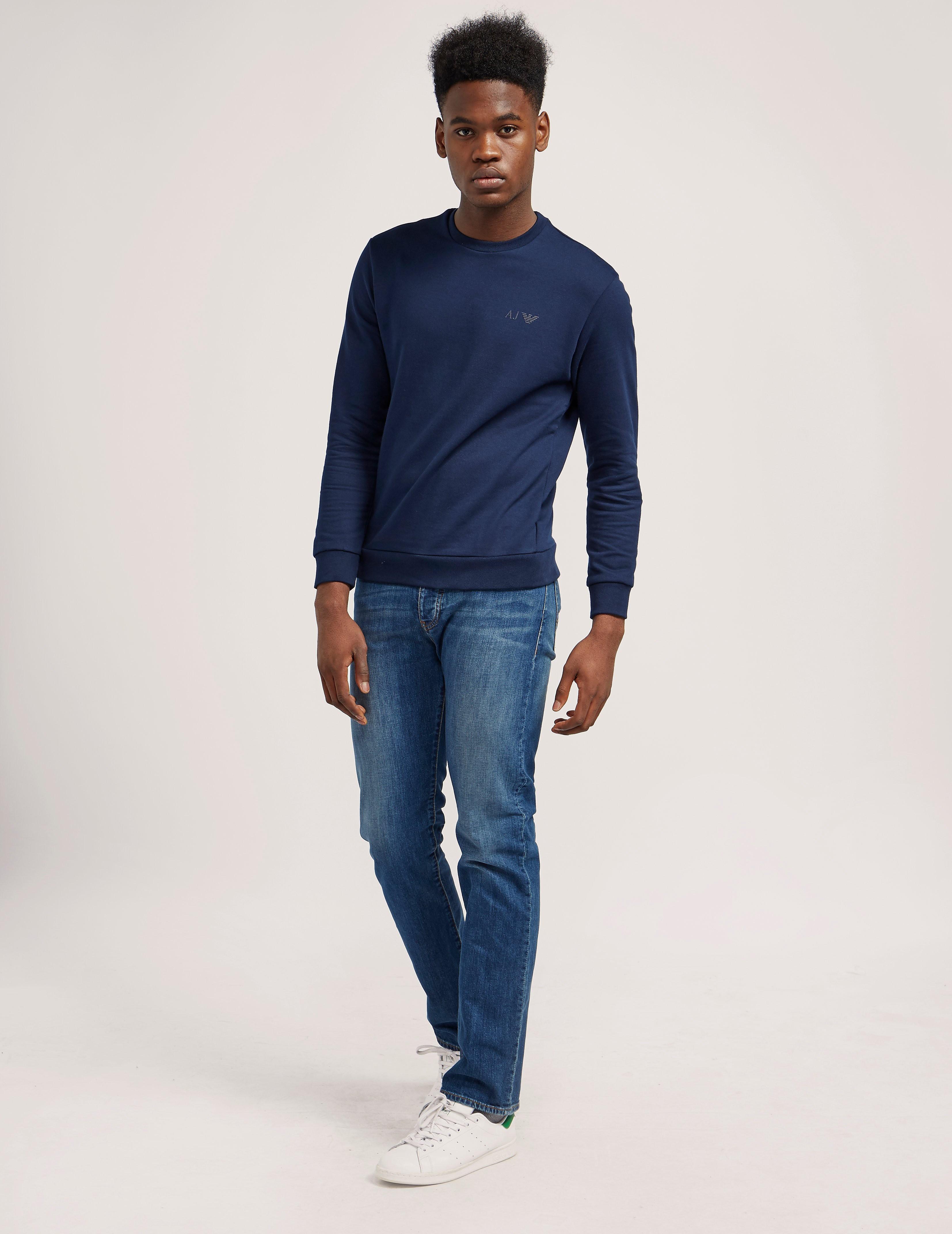 Armani Jeans J21 Regular Fit Jean - Long