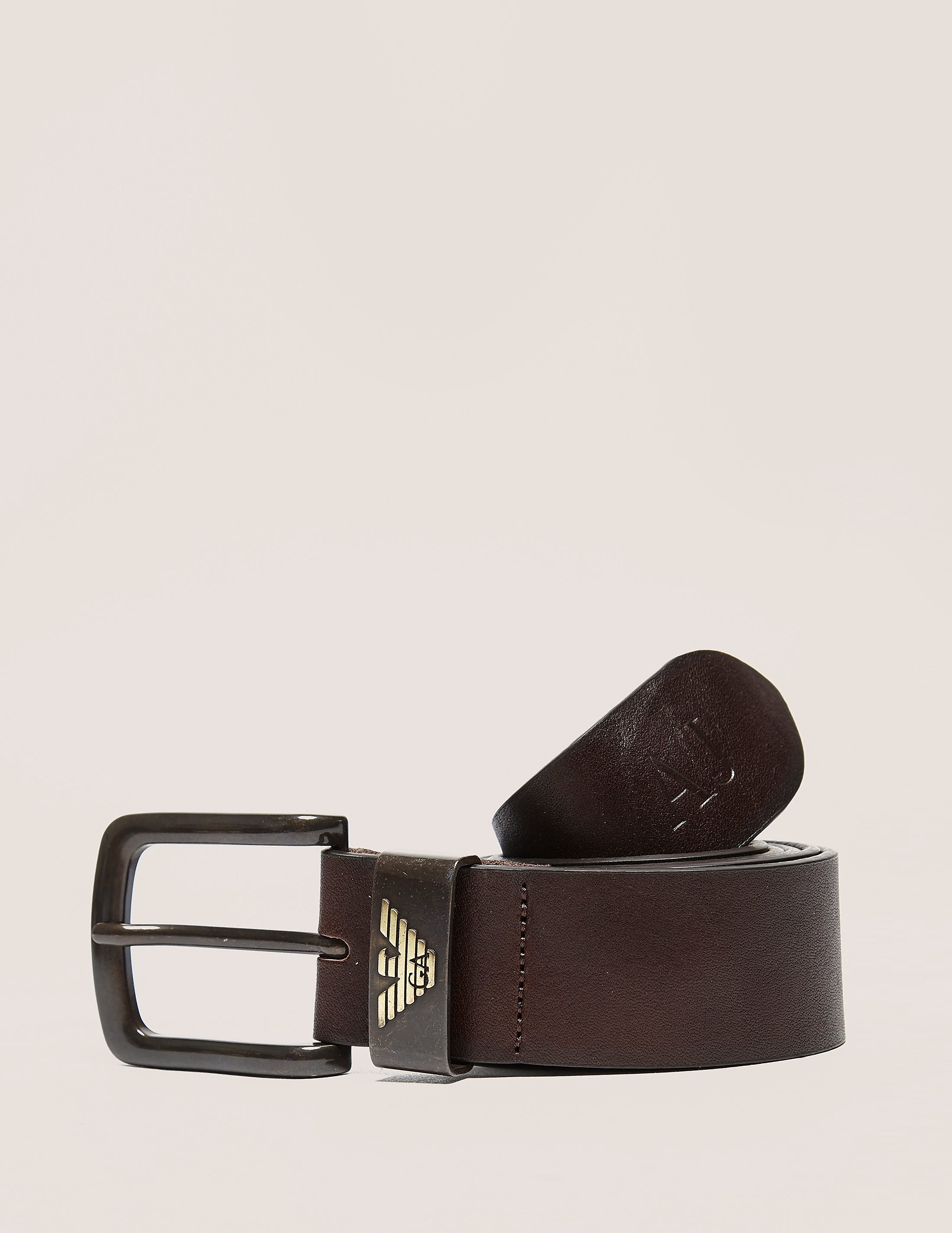 Armani Jeans Leather Belt