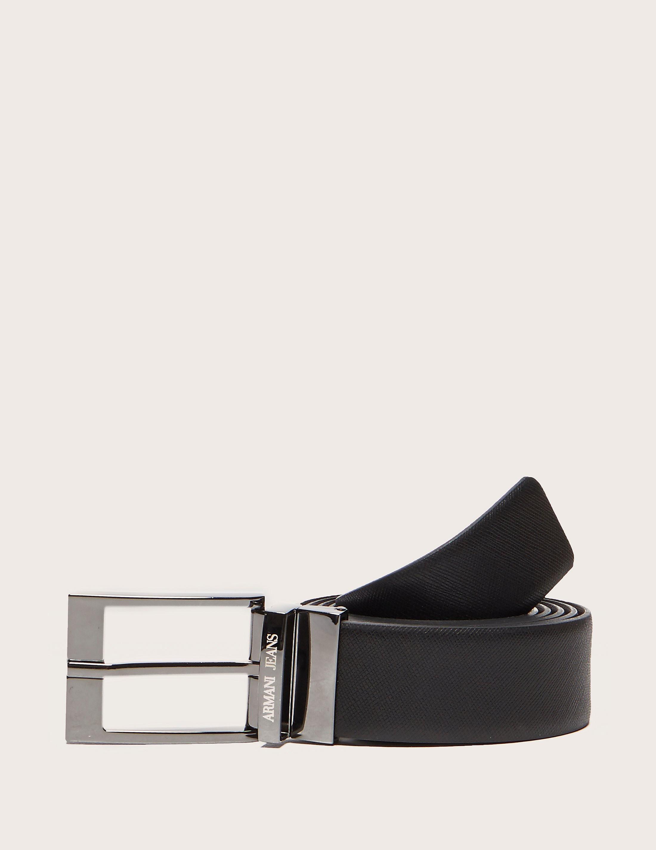 Armani Jeans Textured Belt