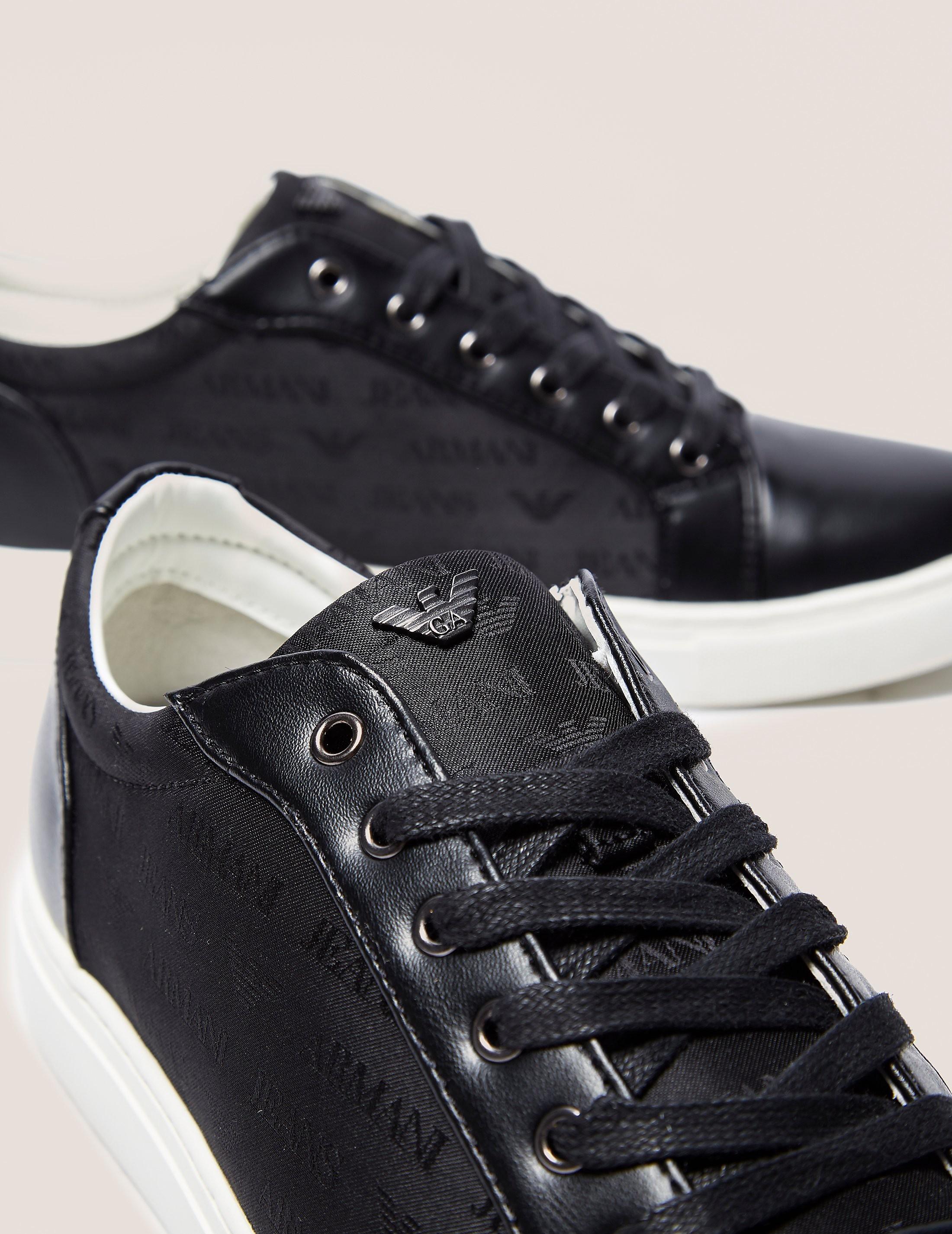 Armani Jeans Logo Sneaker