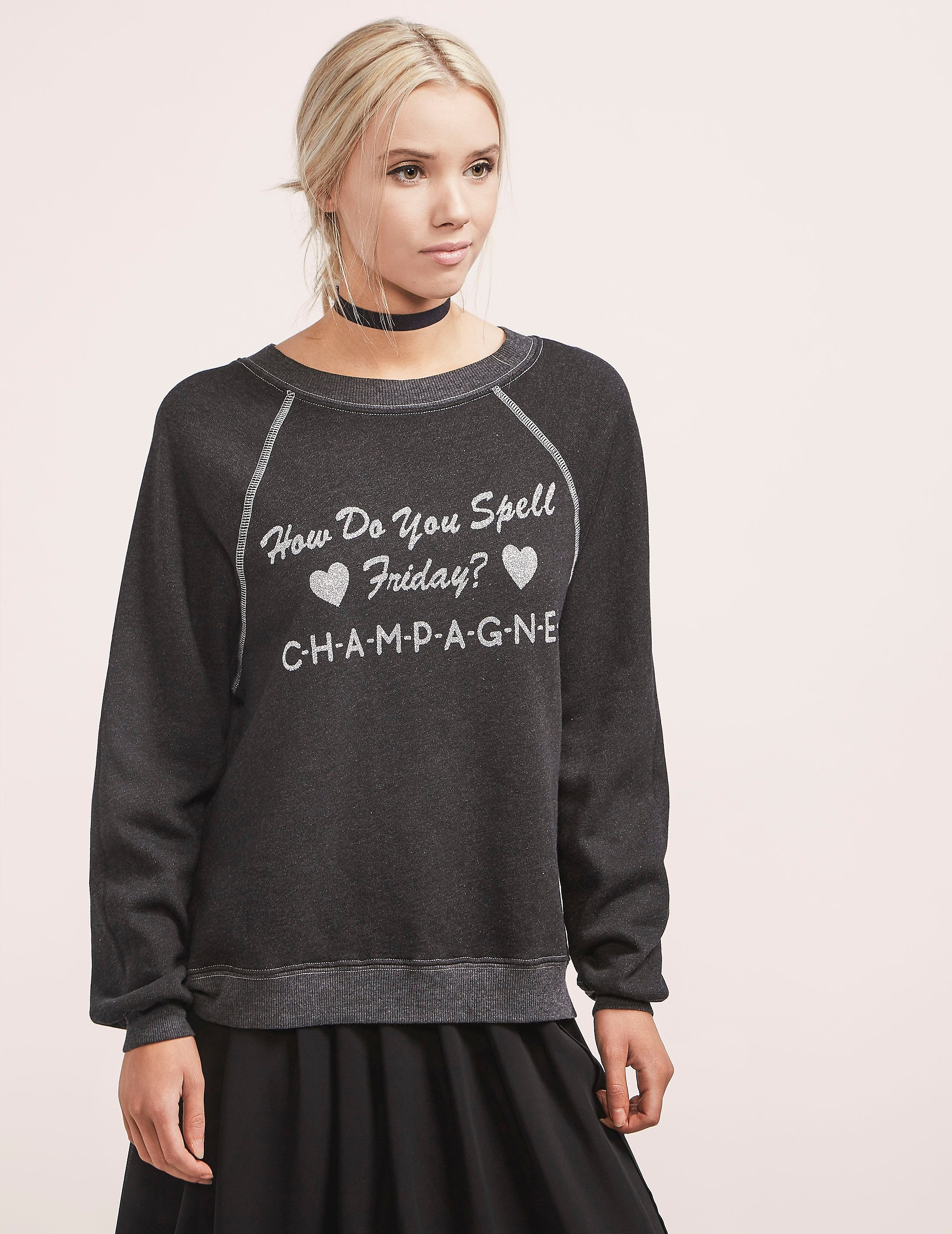 Wildfox Finally Friday Sweater