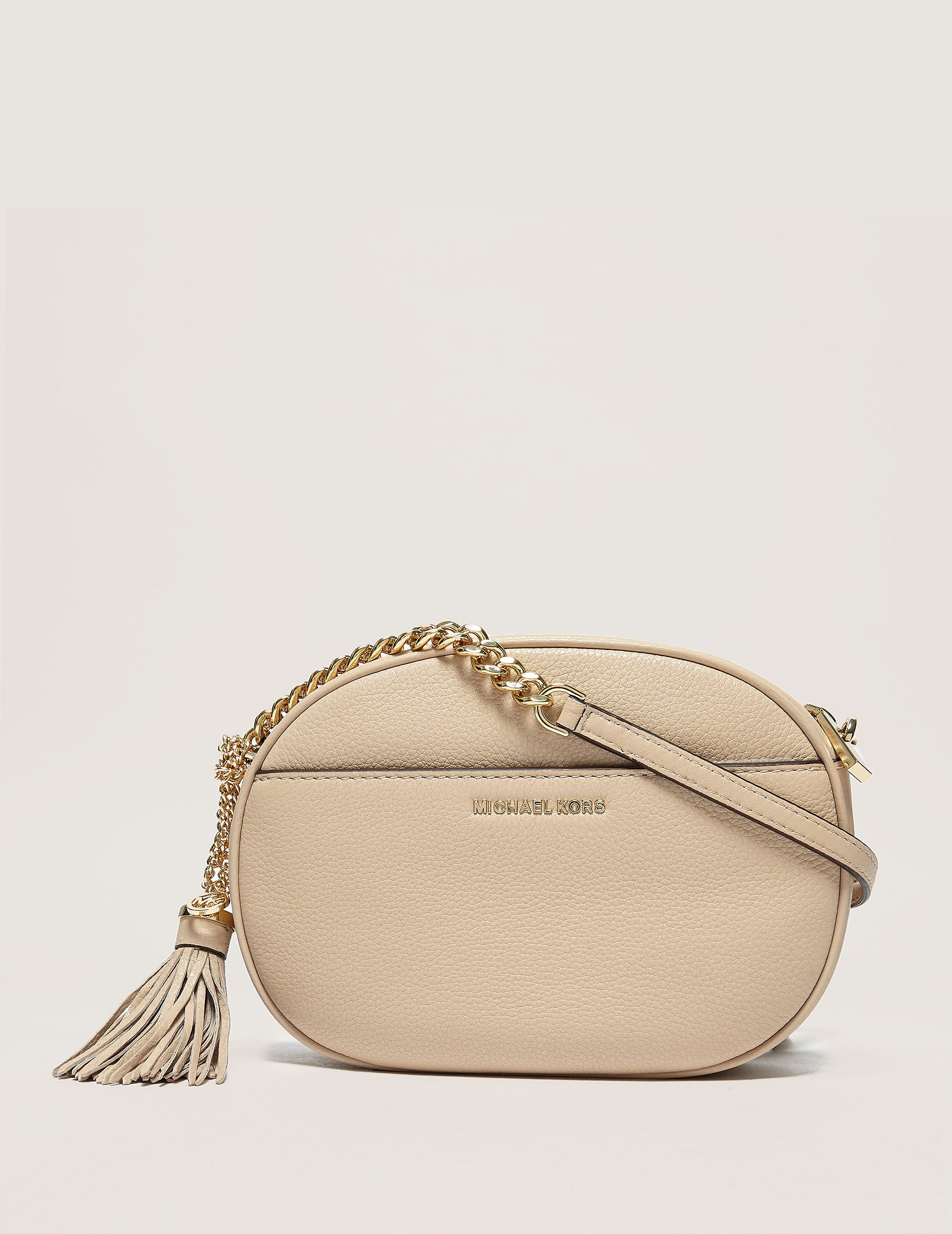 Michael Kors Ginny Medium Leather Crossbody