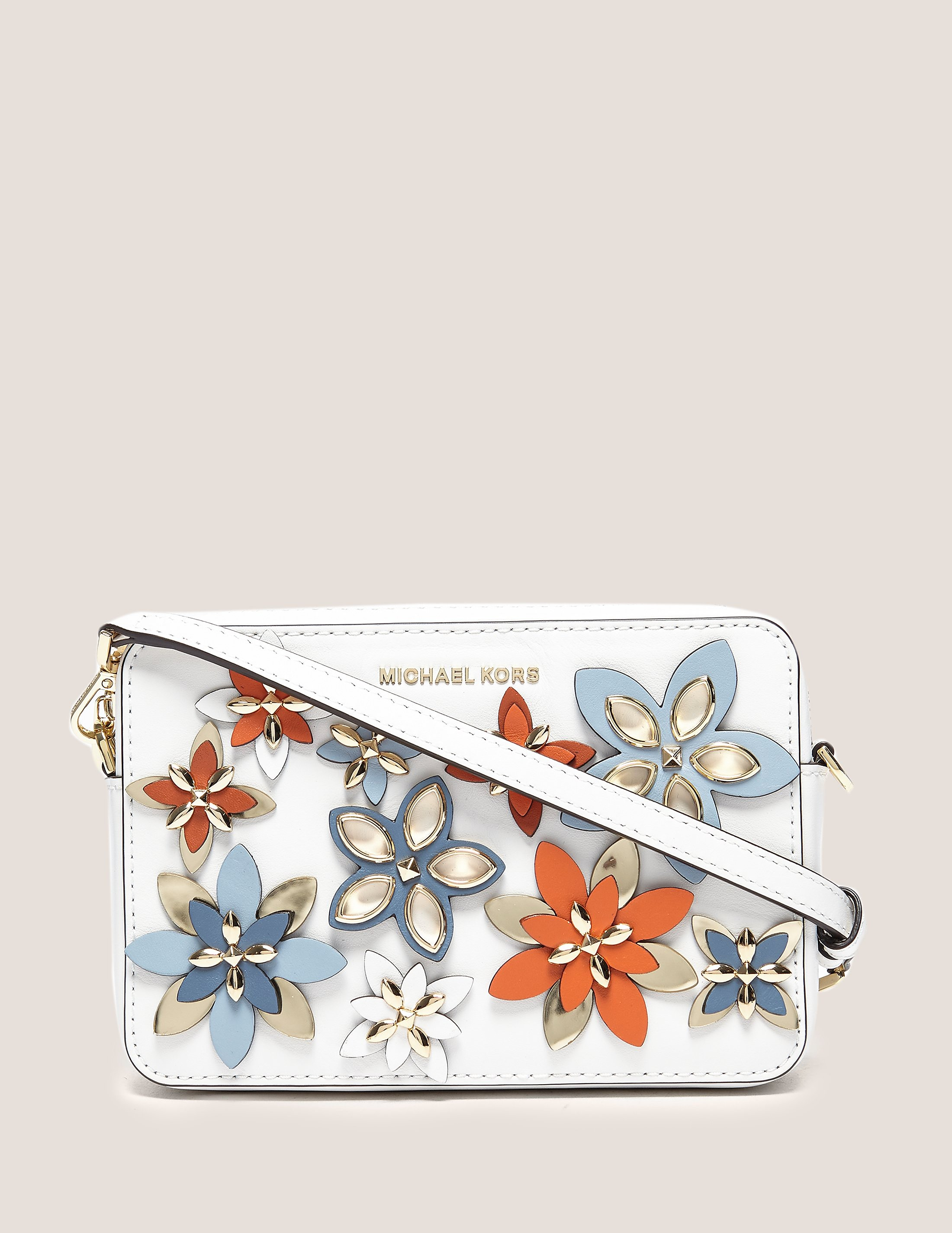 Michael Kors Flowers Medium Camera Bag