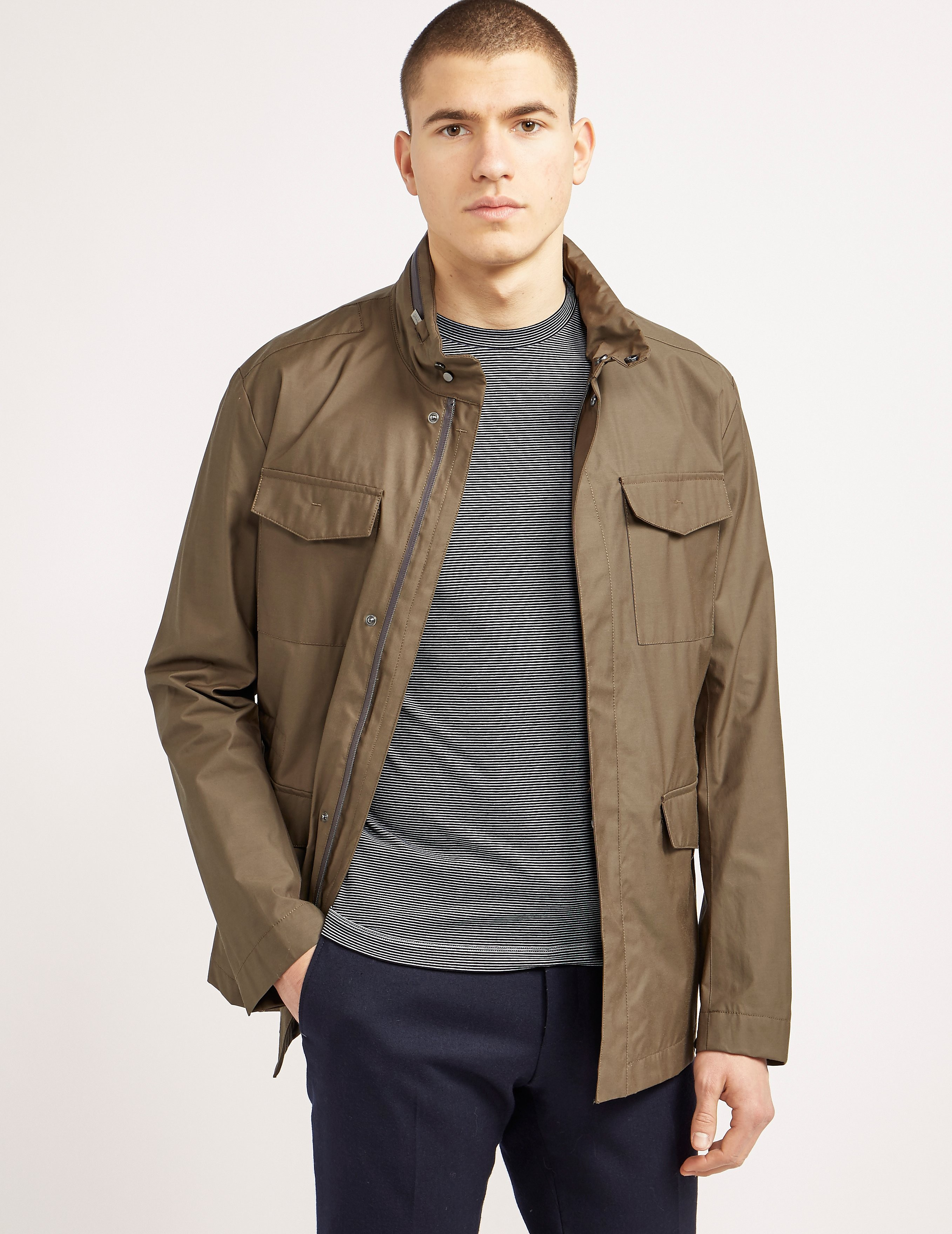 Armani Collezioni Caban Light Jacket
