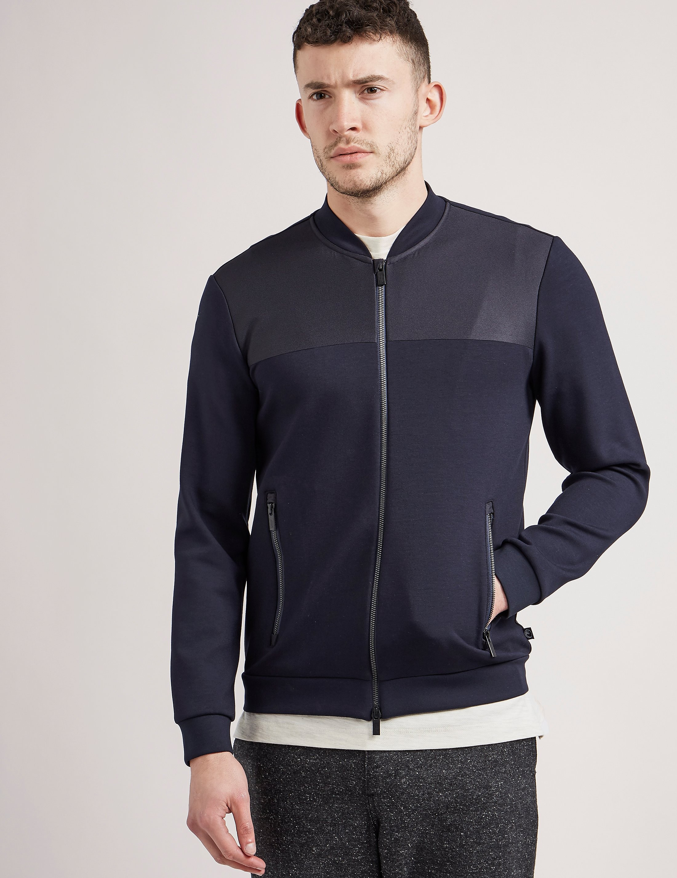 Armani Collezioni Jersey Full Zip Light jacket