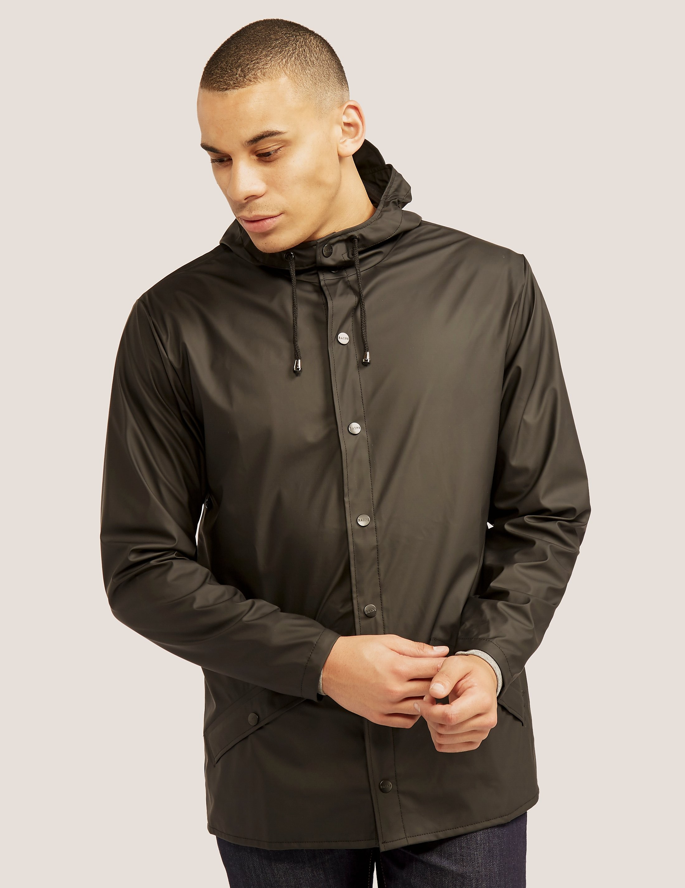 RAINS Button Jacket