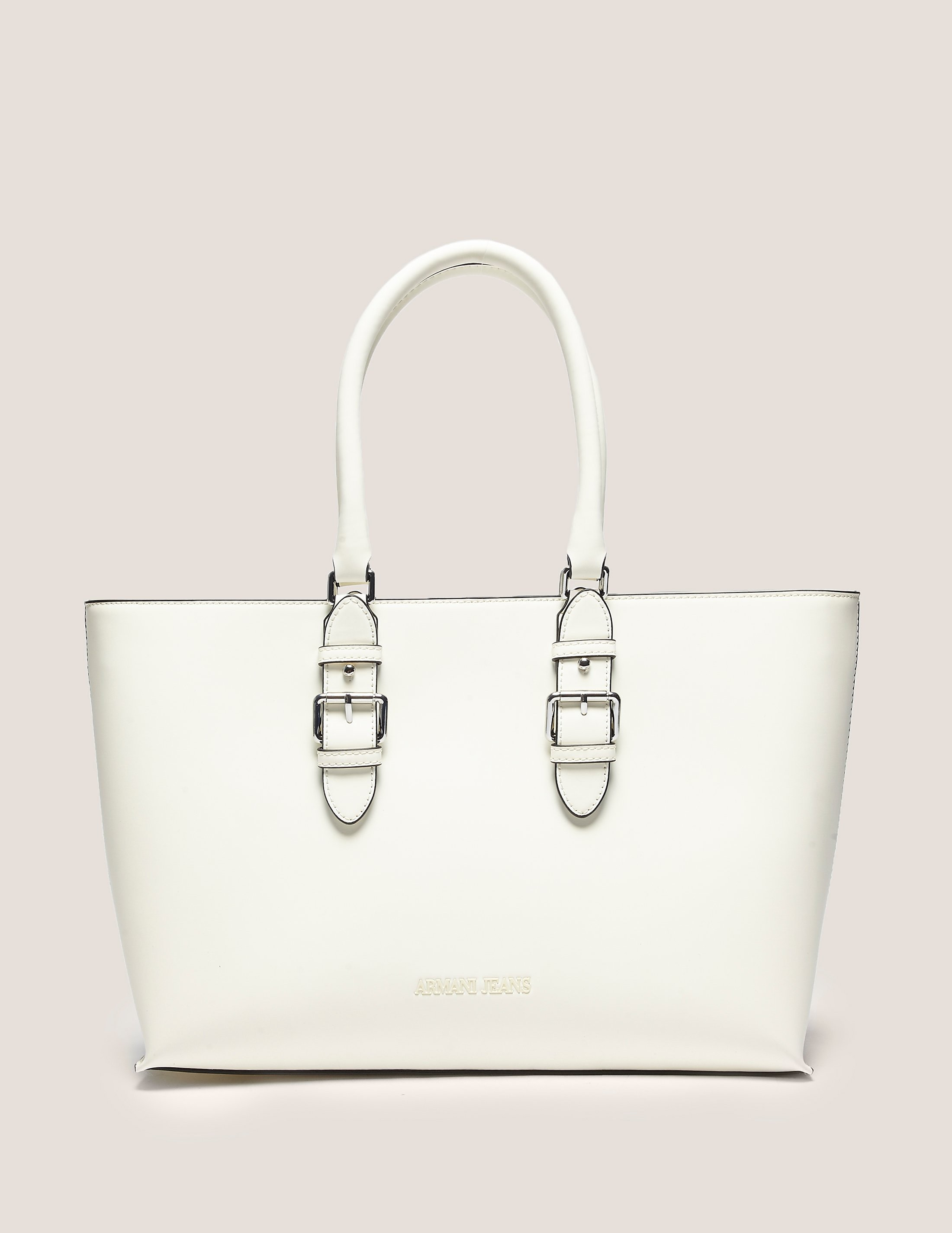 Armani Jeans Buckle Tote