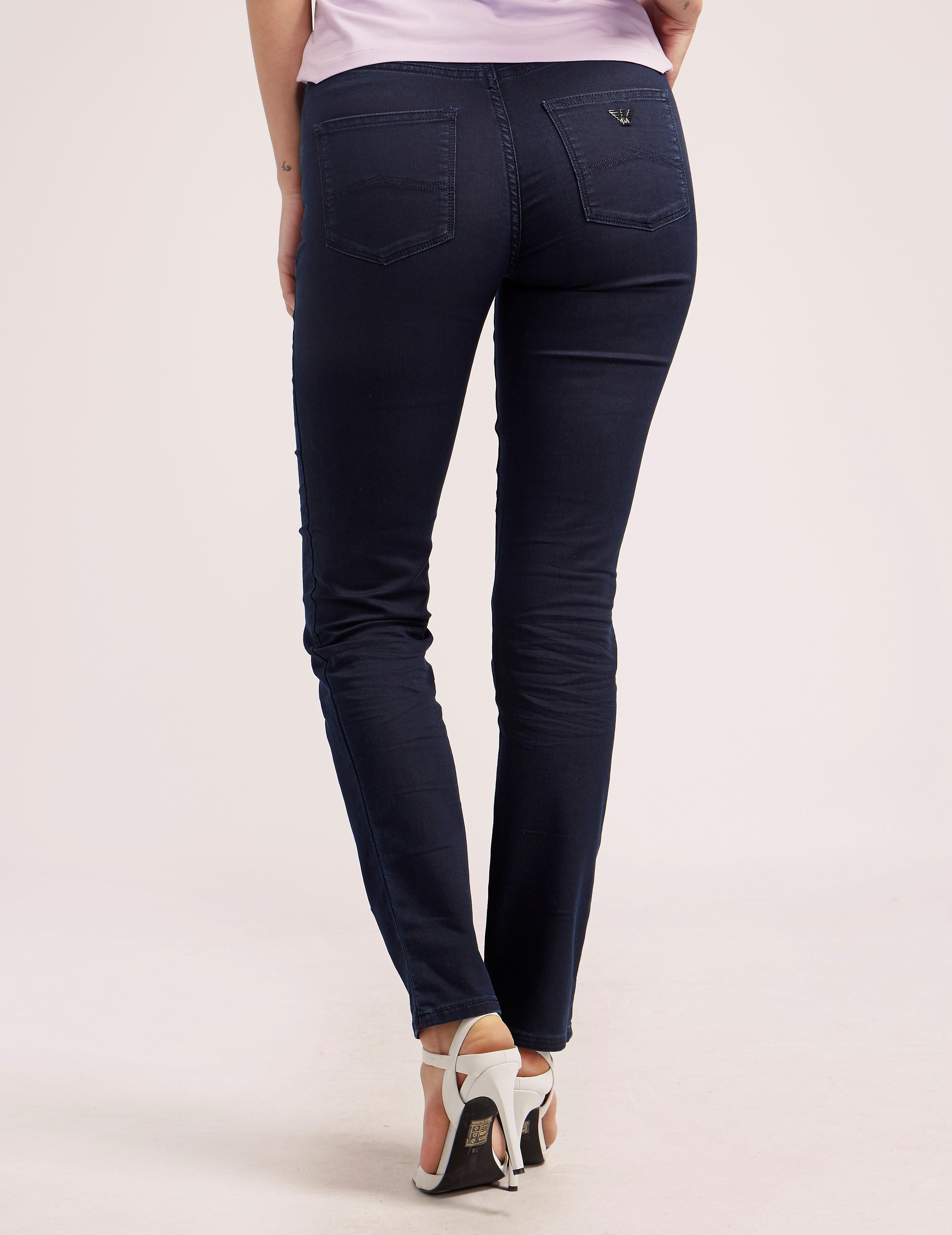Armani Jeans J18 High Waist Jean