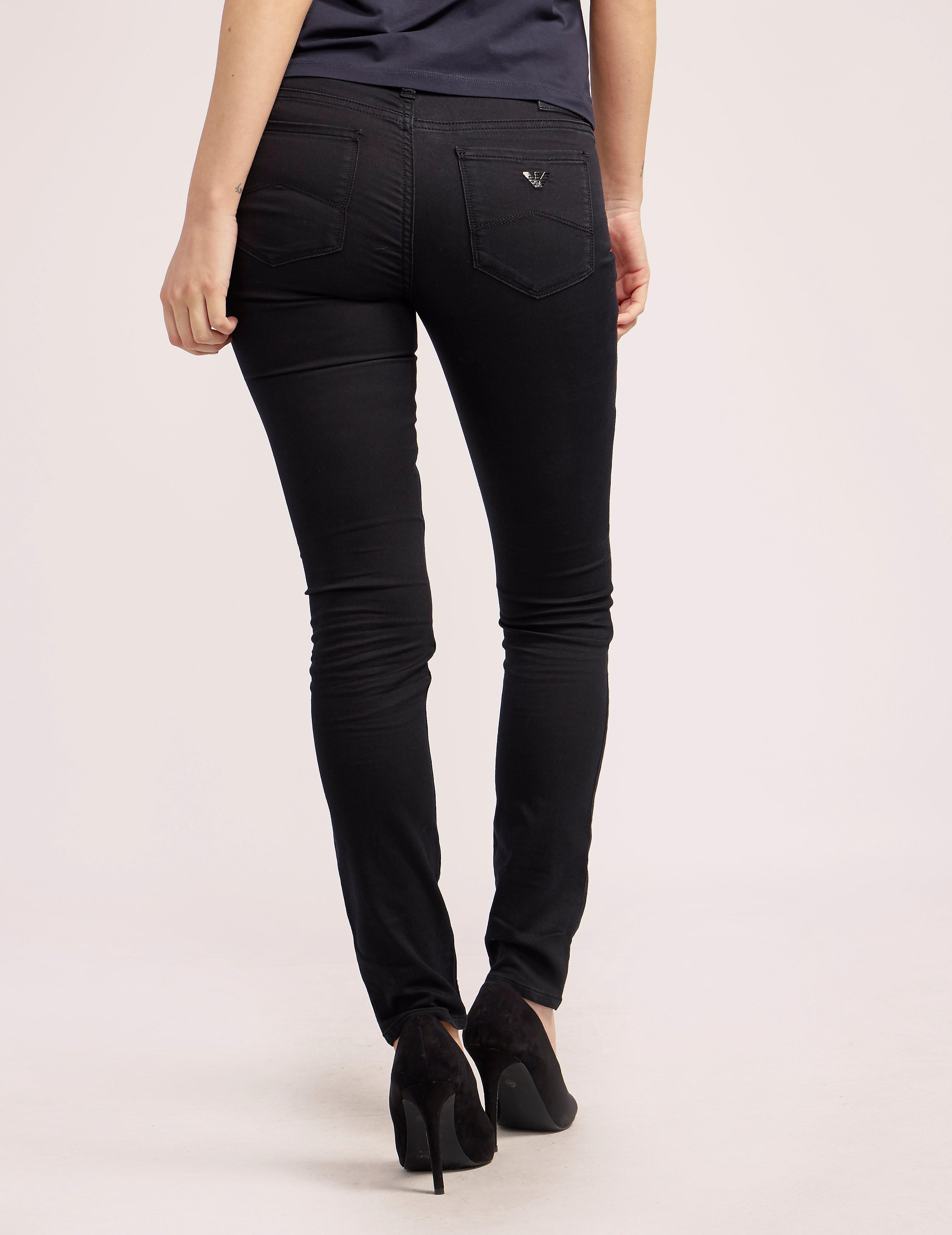 Armani Jeans J28 Mid Waist Jean