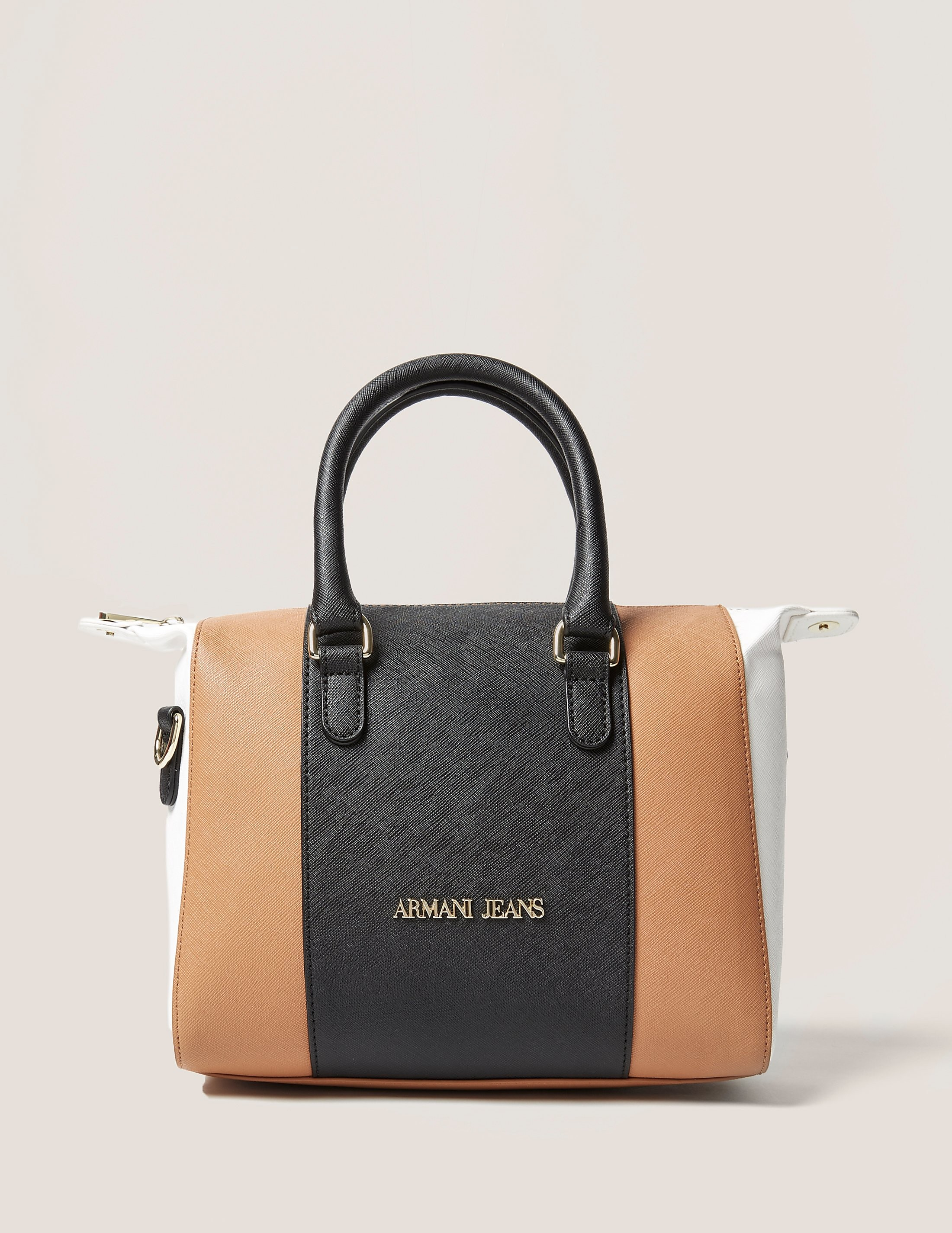 Armani Jeans Colour Block Satchel Bag