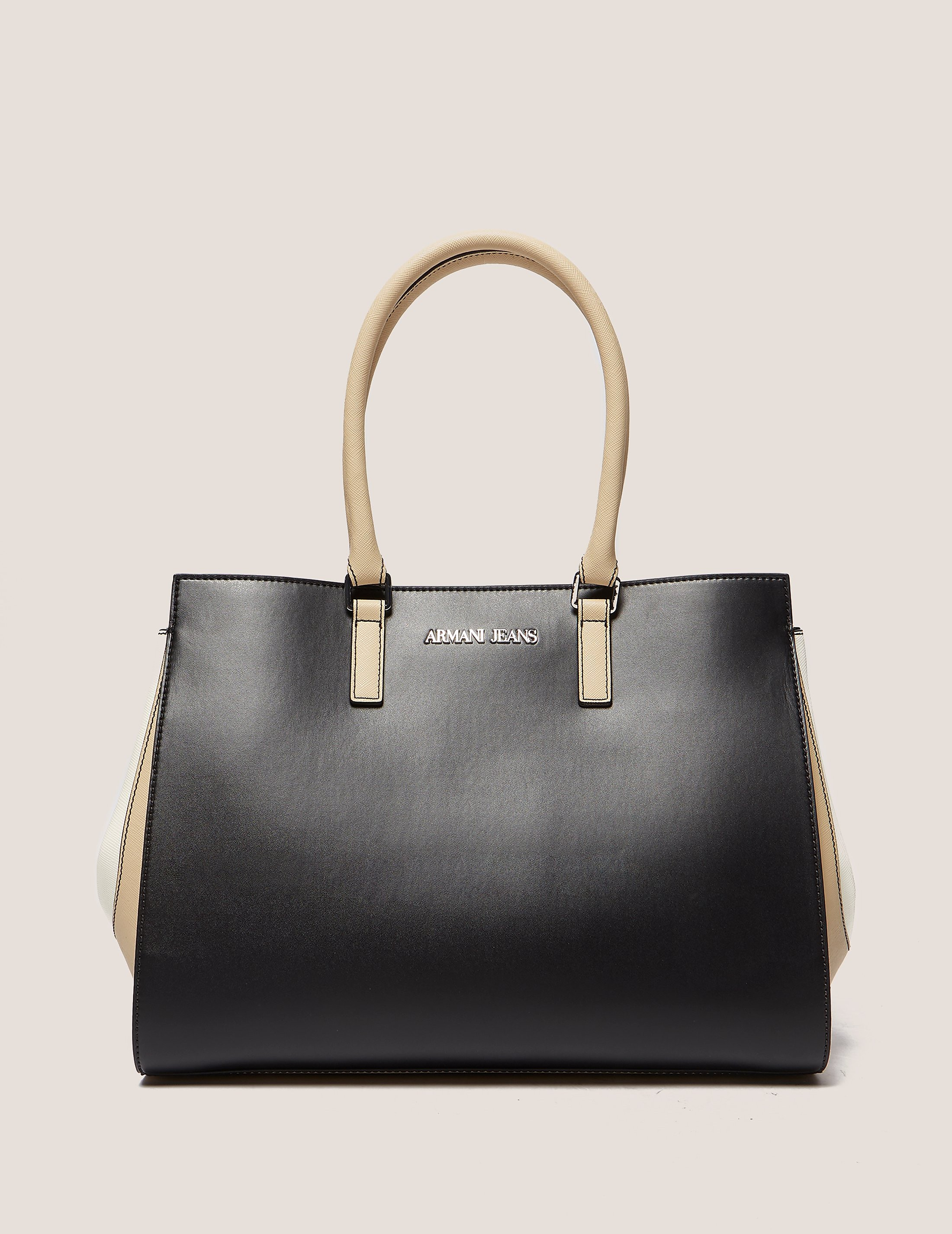 Armani Jeans Colour Block Shopper Bag