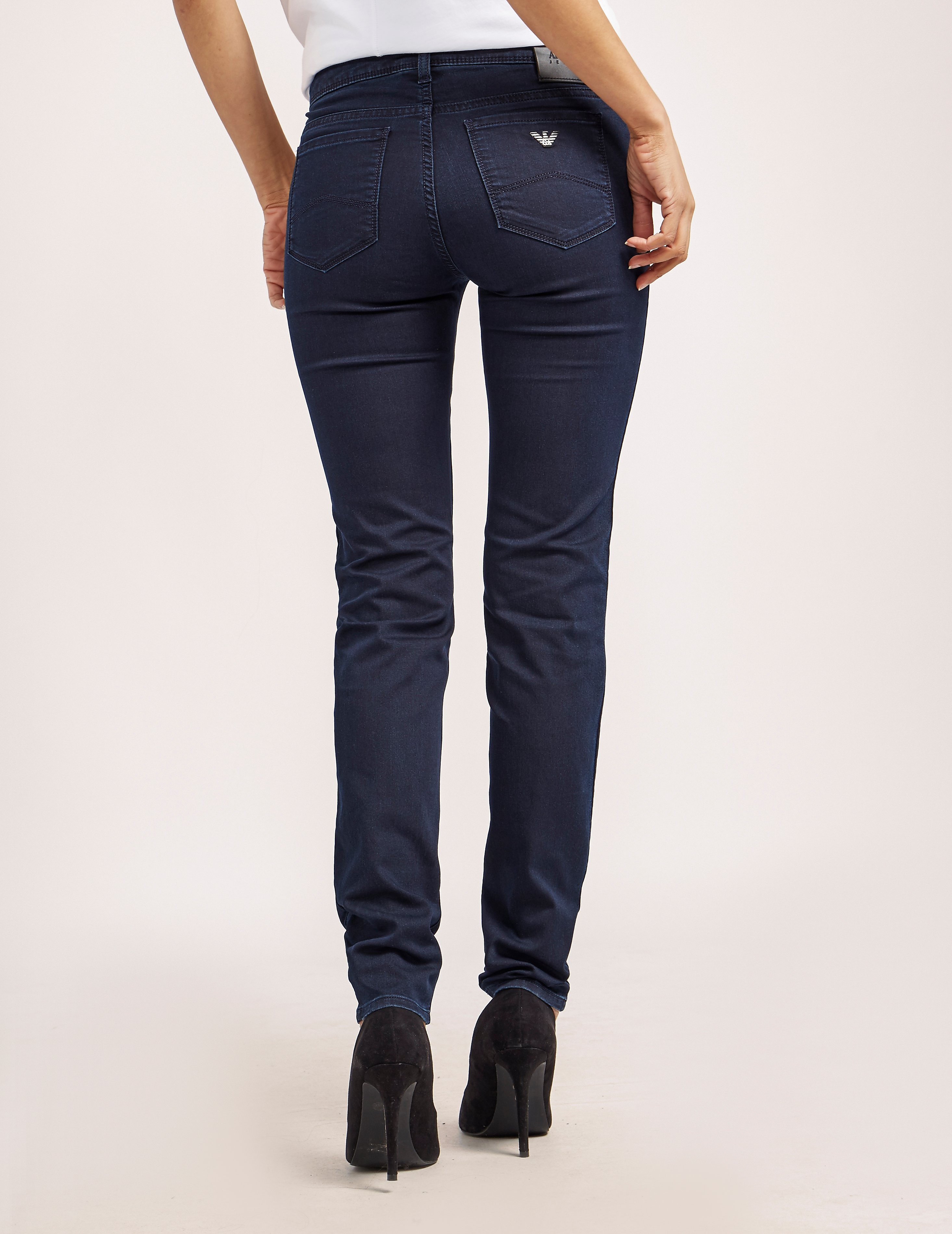 Armani Jeans J28 Mid Waist Jeans