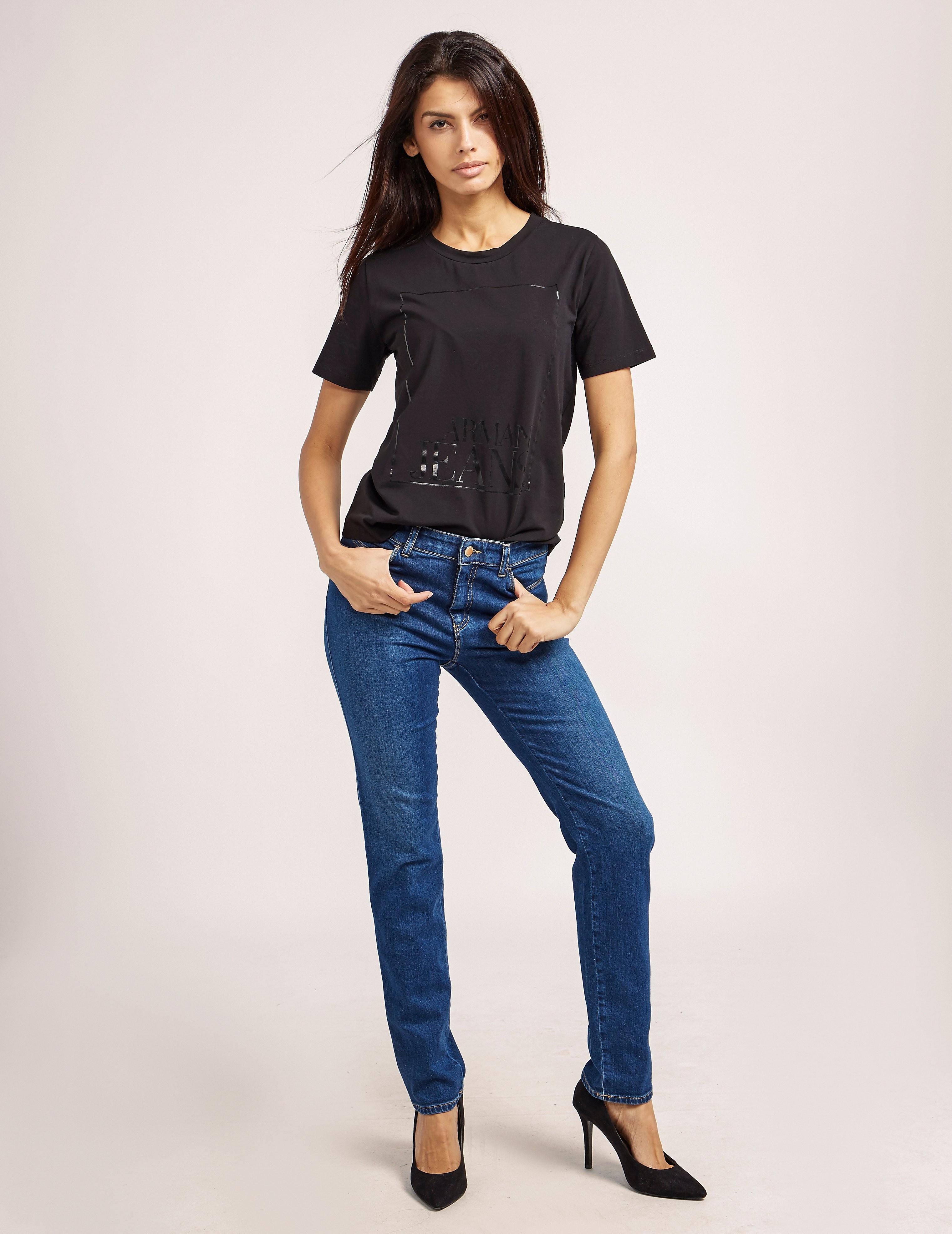 Armani Jeans J18 High Waist Jeans