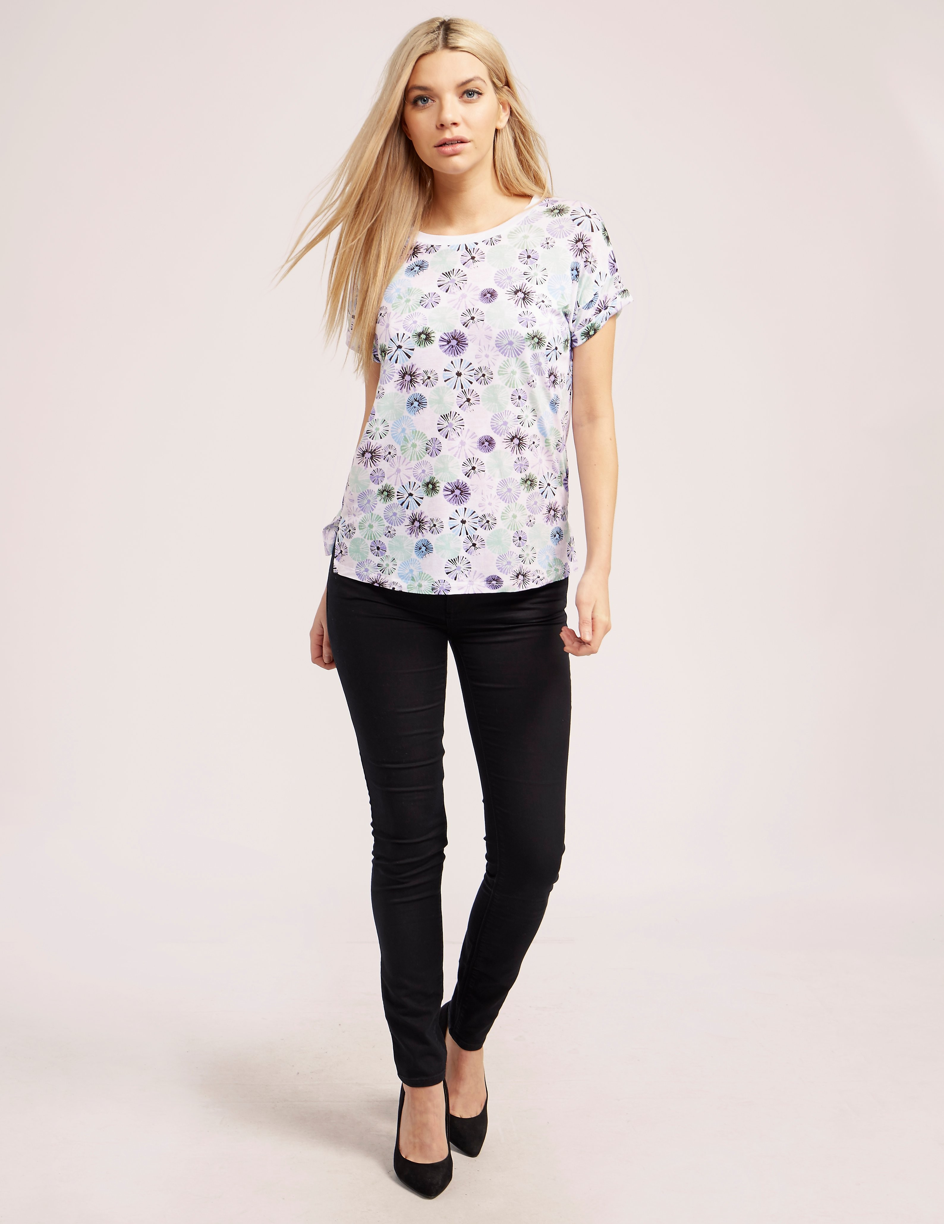 Armani Jeans Print Short Sleeve T-Shirt
