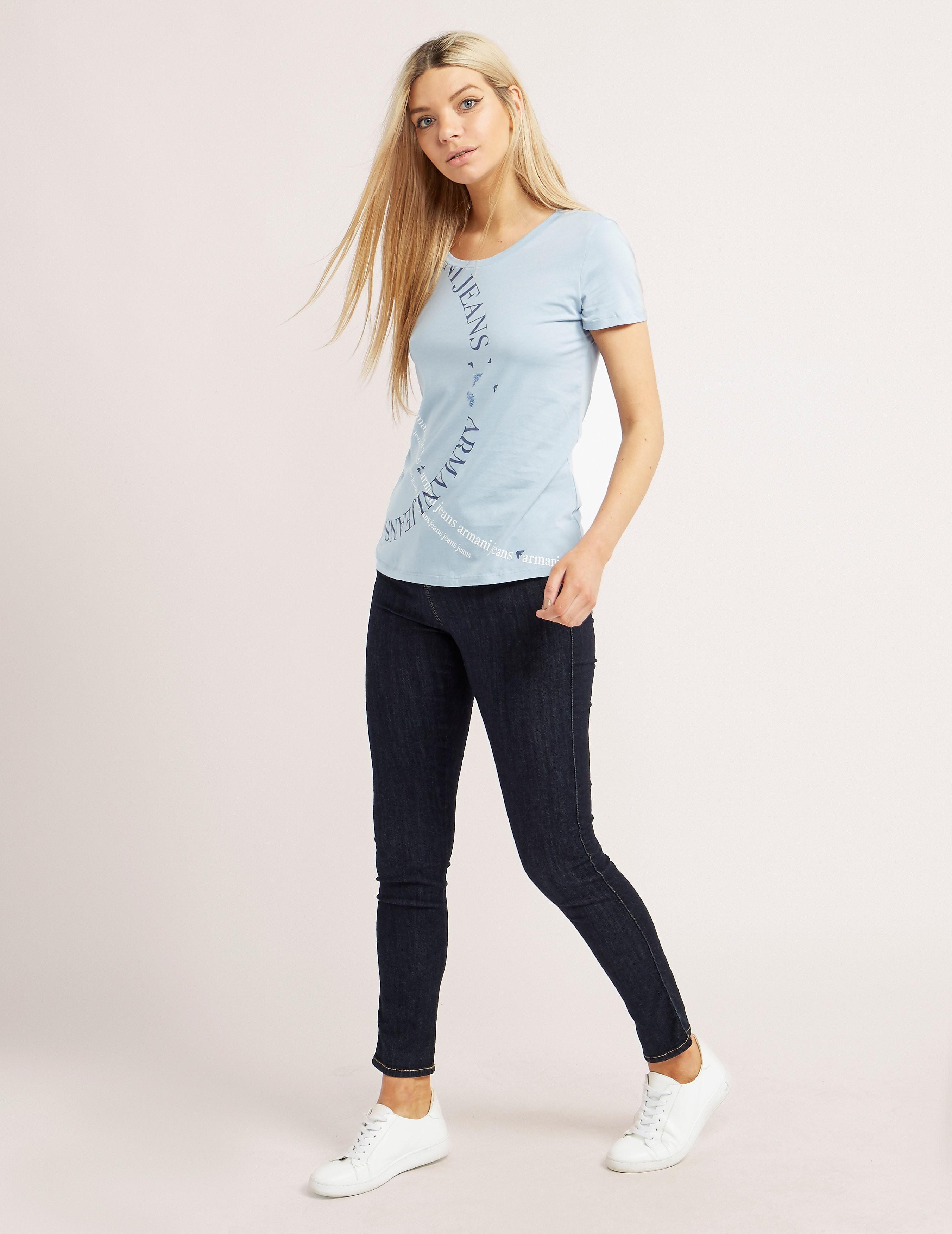 Armani Jeans Print T-Shirt