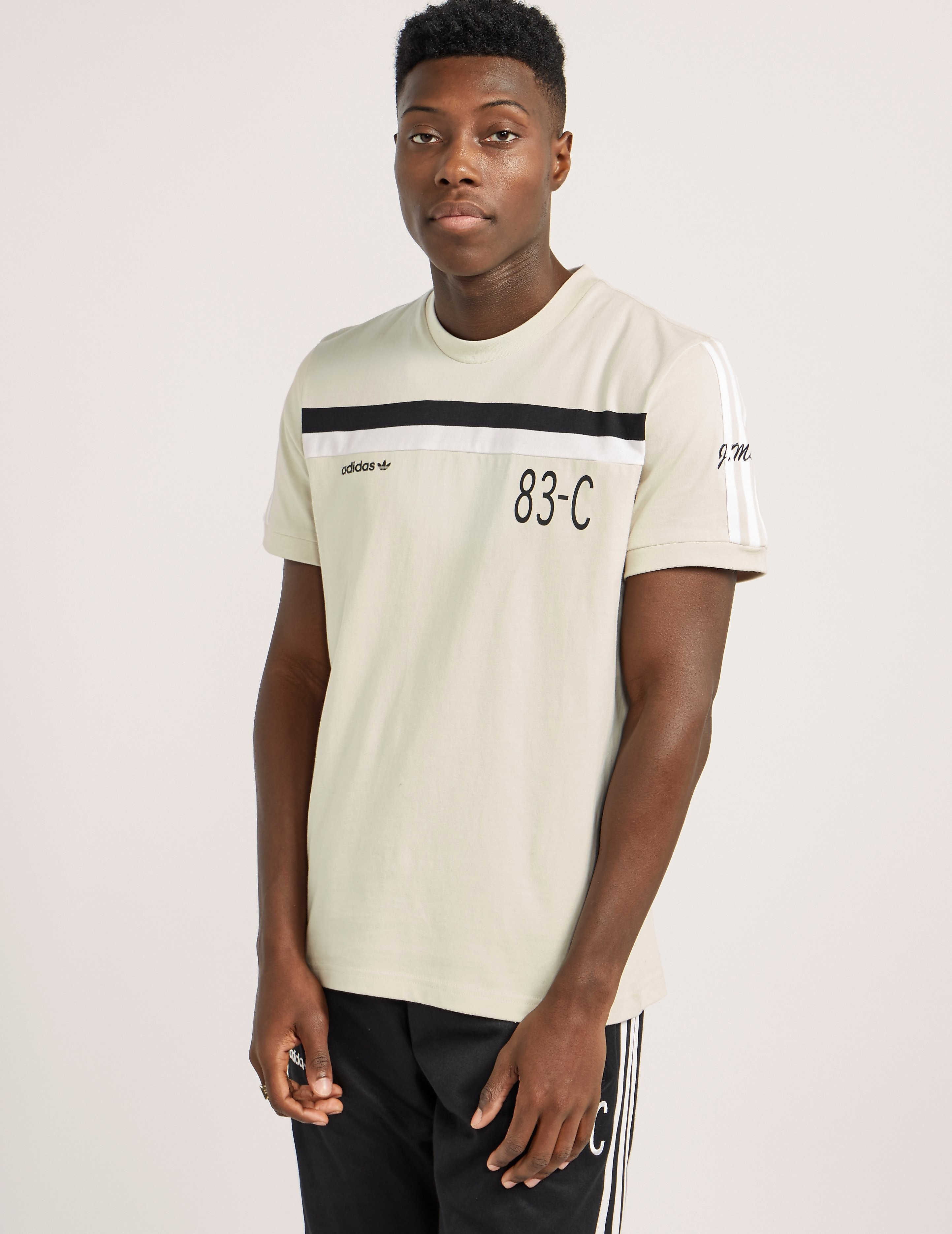 adidas Originals 83-C Crew Short Sleeve T-Shirt