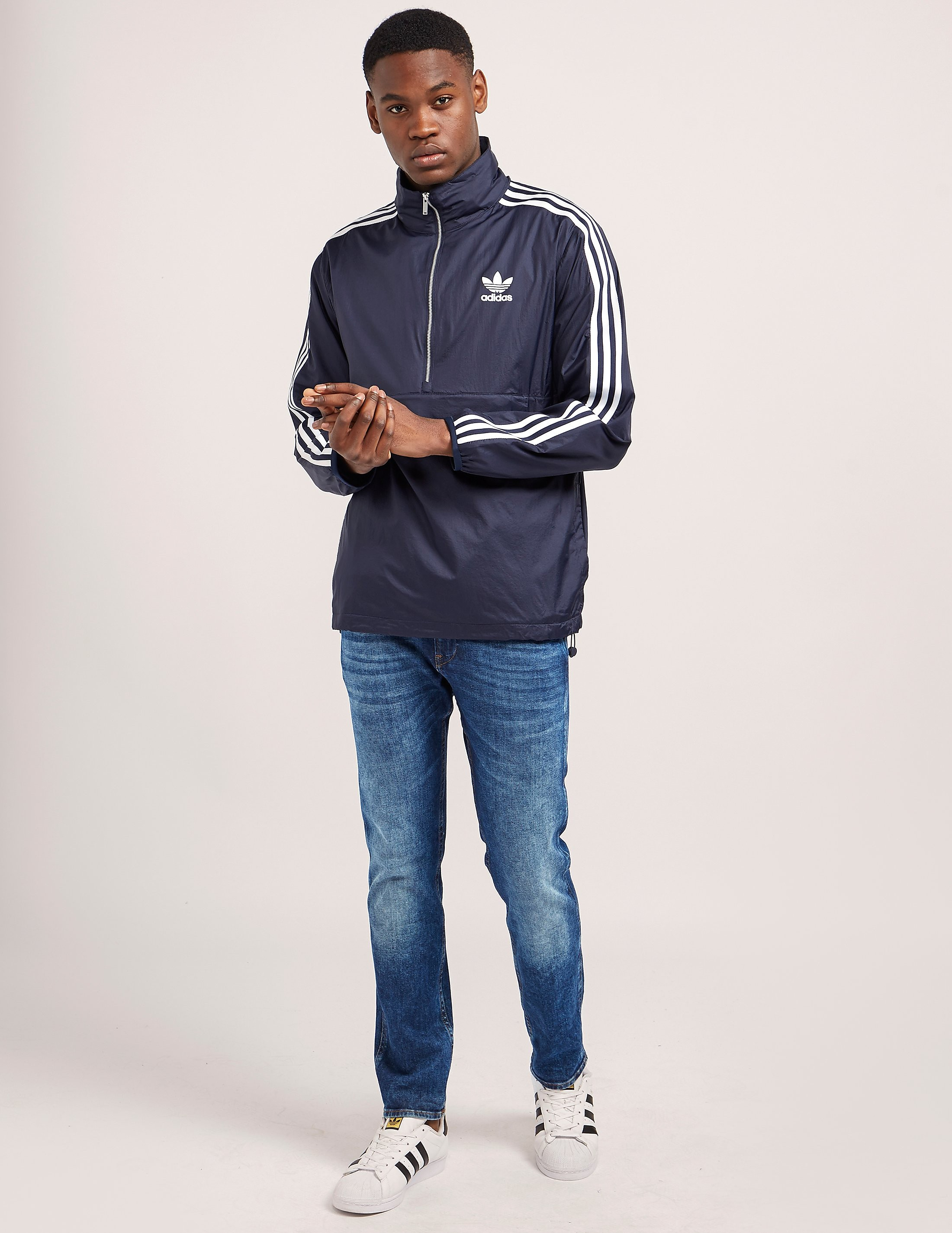 adidas Originals London Half-Zip Overhead Jacket