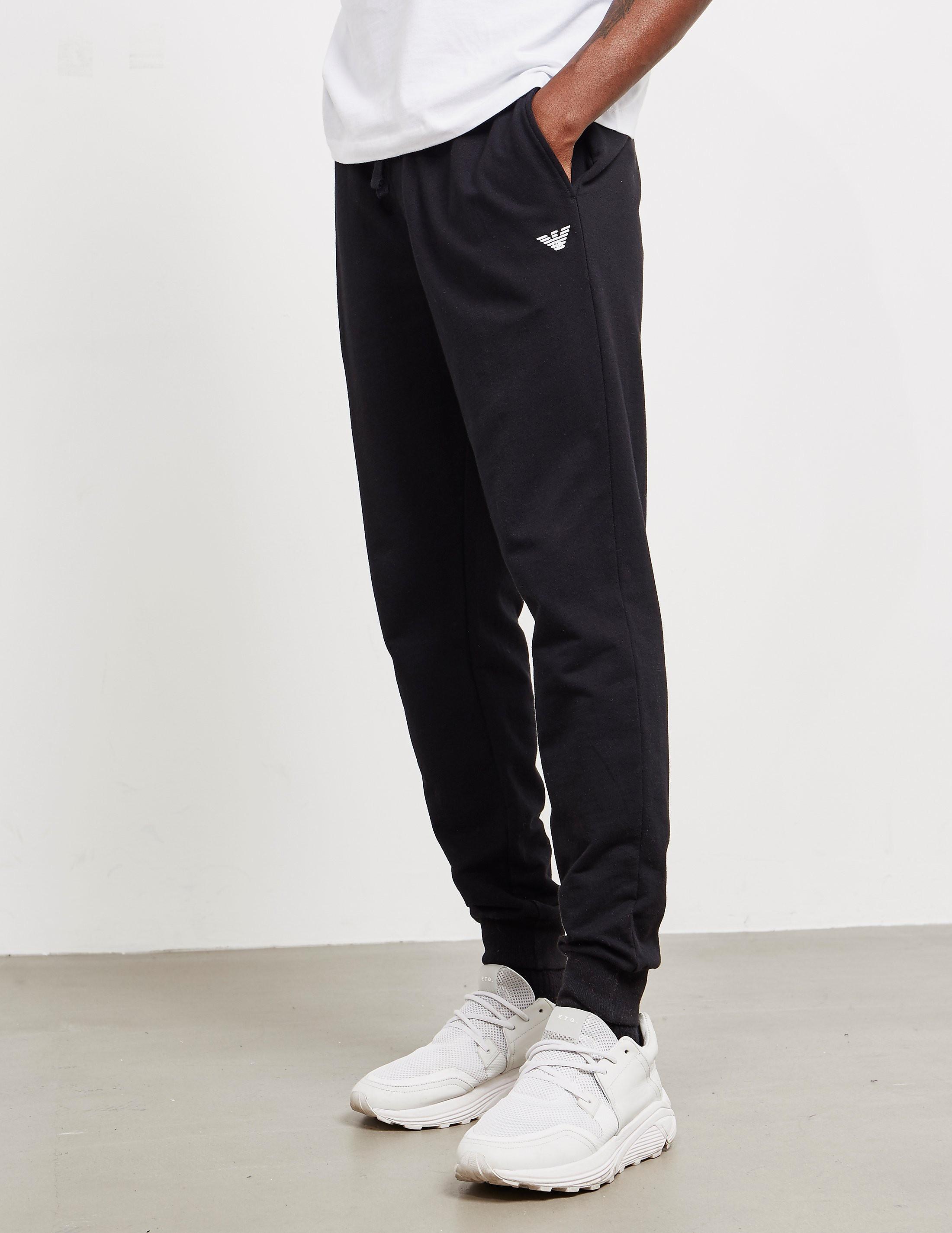 Emporio Armani Fleece Track Pants