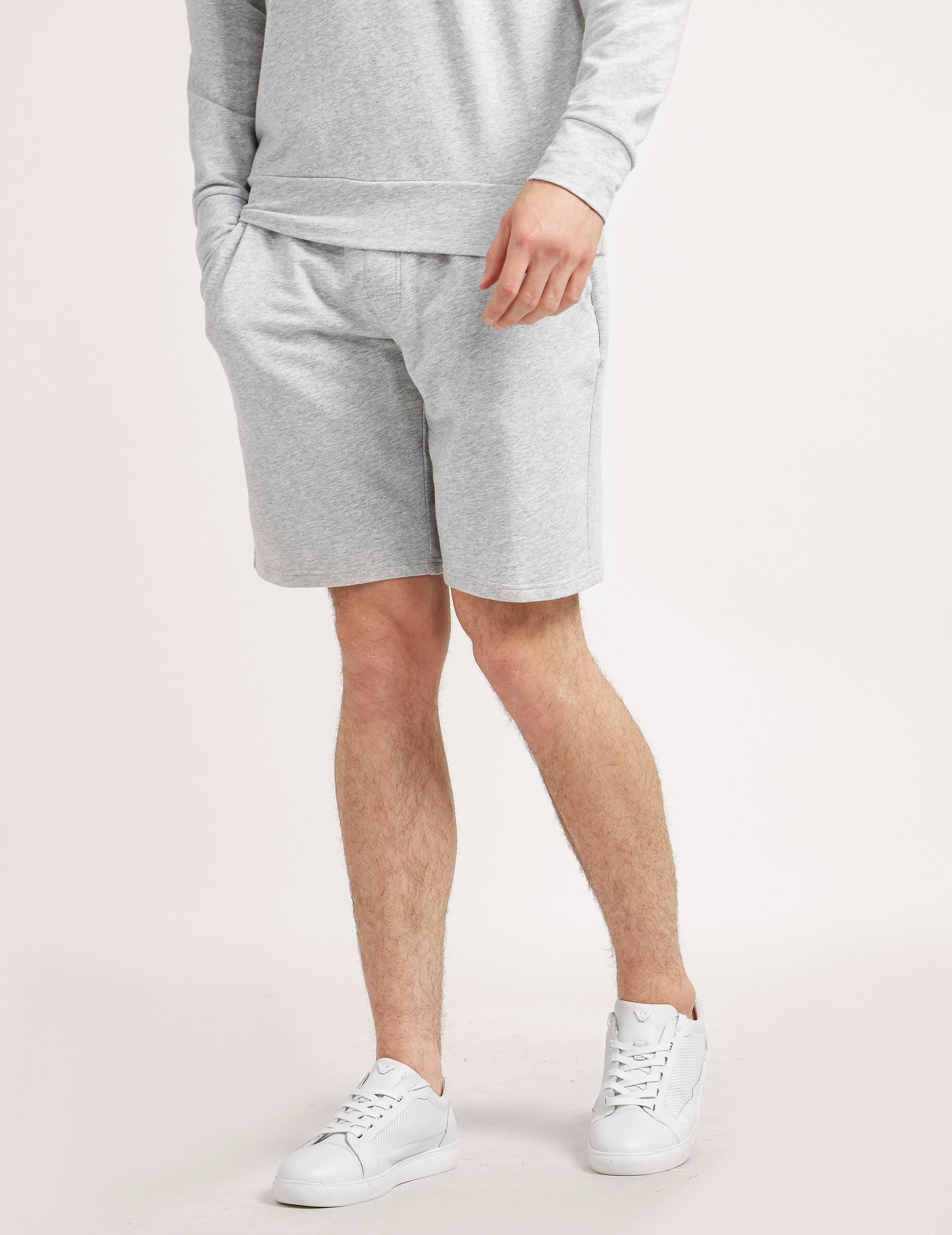 Emporio Armani Bermuda Eagle Fleece Shorts