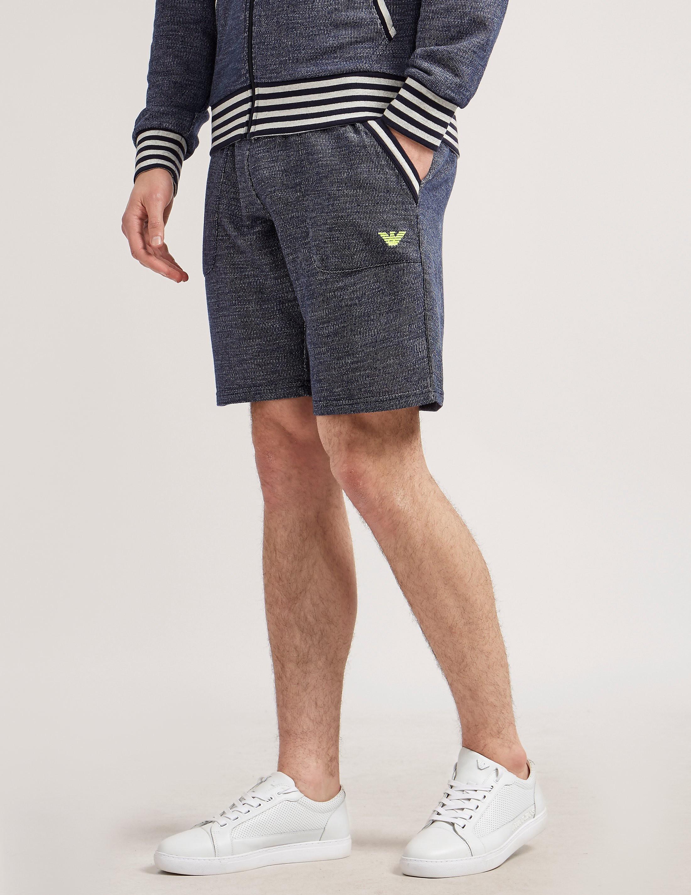 Emporio Armani Terry Bermuda Shorts
