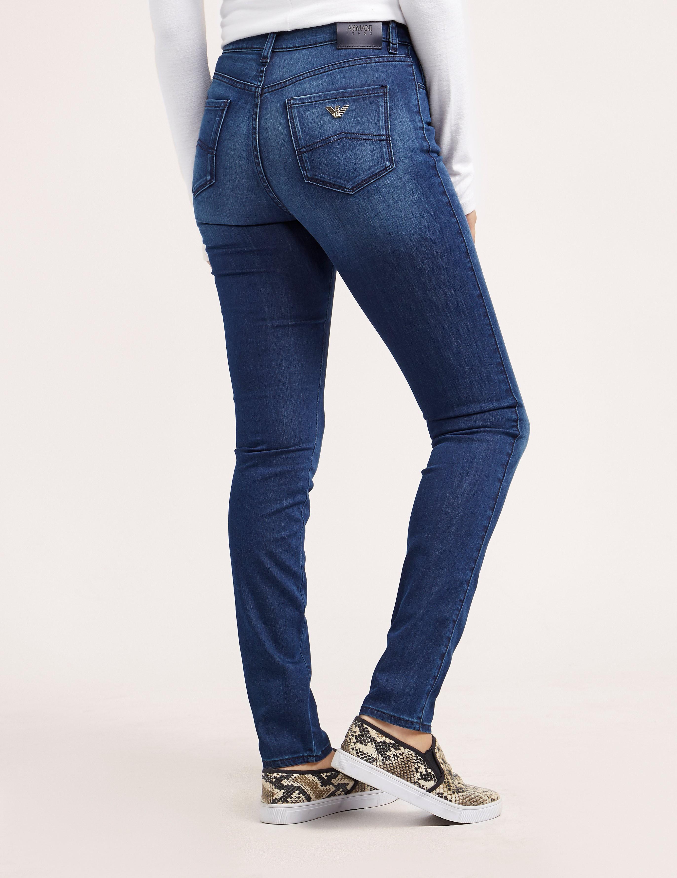 Armani Jeans J20 High Waist Jean