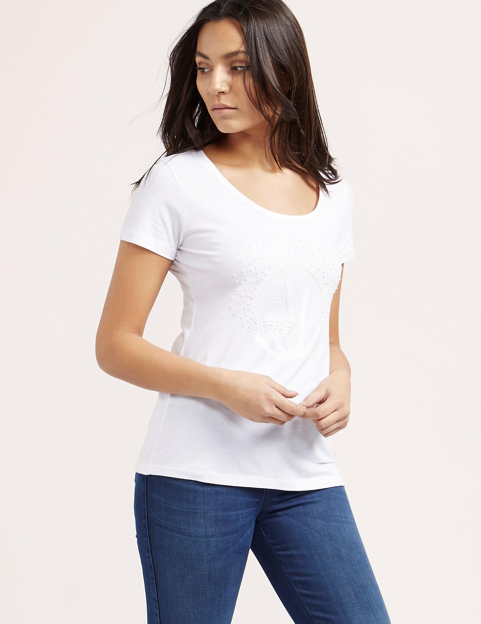 Armani Jeans Beaded T-Shirt